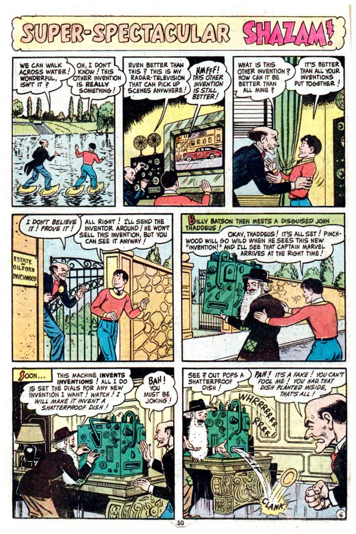 Read online Shazam! (1973) comic -  Issue #16 - 50