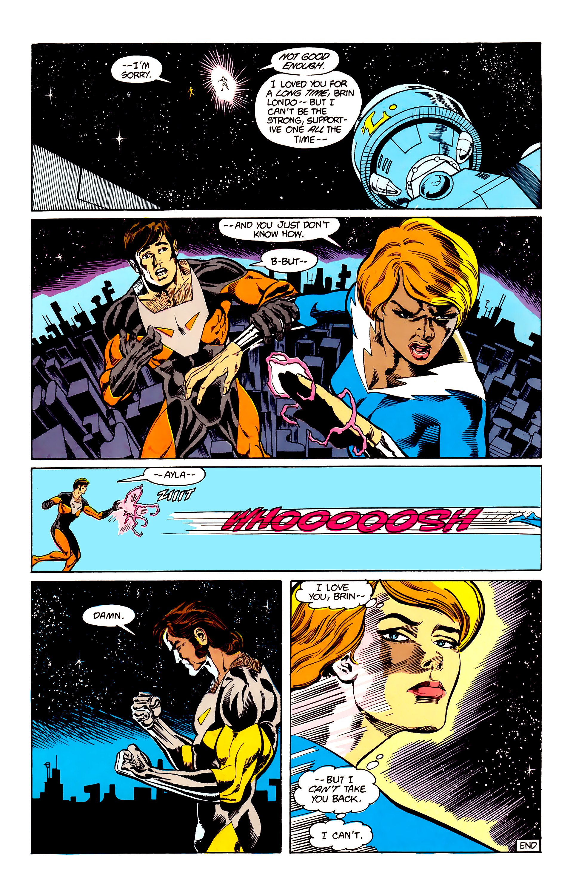 Legion of Super-Heroes (1984) 24 Page 29