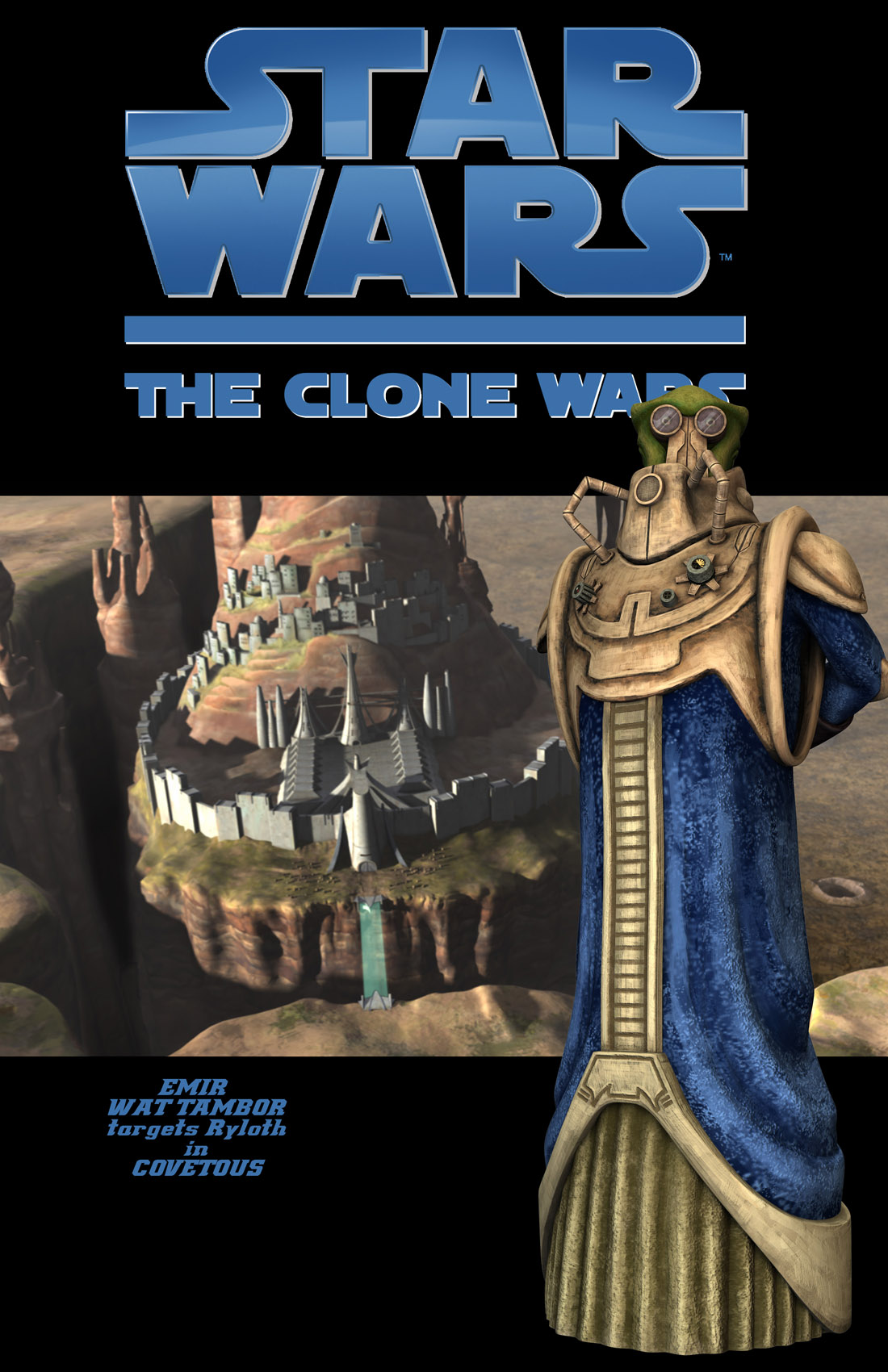 Read online Star Wars: Tales From The Clone Wars comic -  Issue # TPB - 124