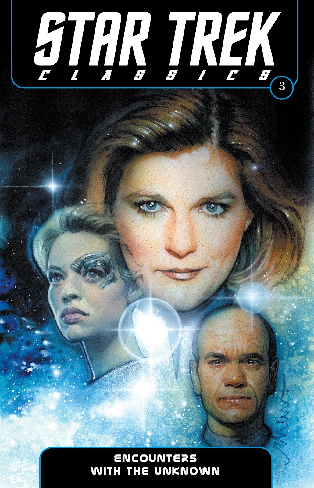 Star Trek: Voyager--Encounters with the Unknown issue TPB - Page 1