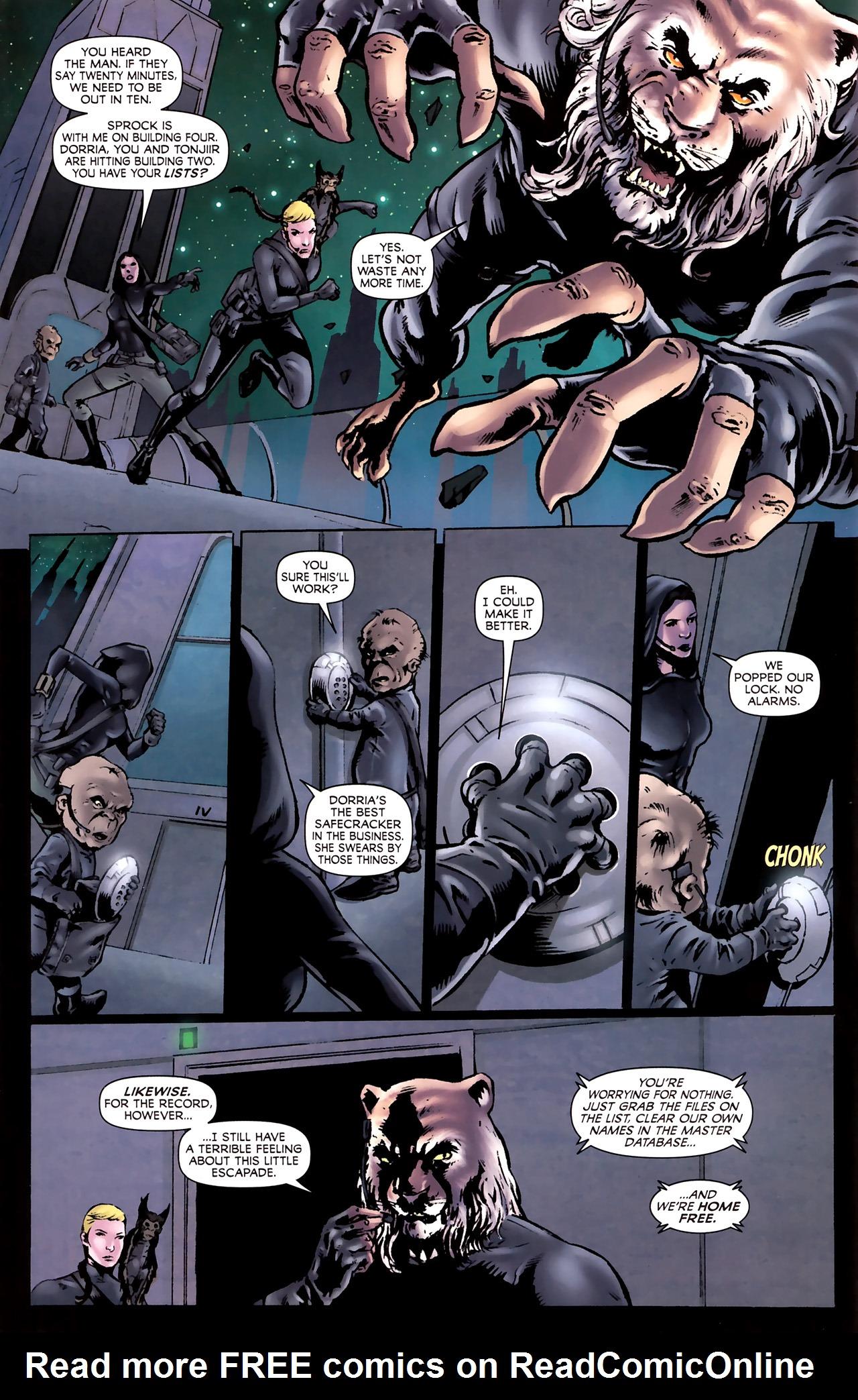 Read online Stargate Vala Mal Doran comic -  Issue #2 - 10