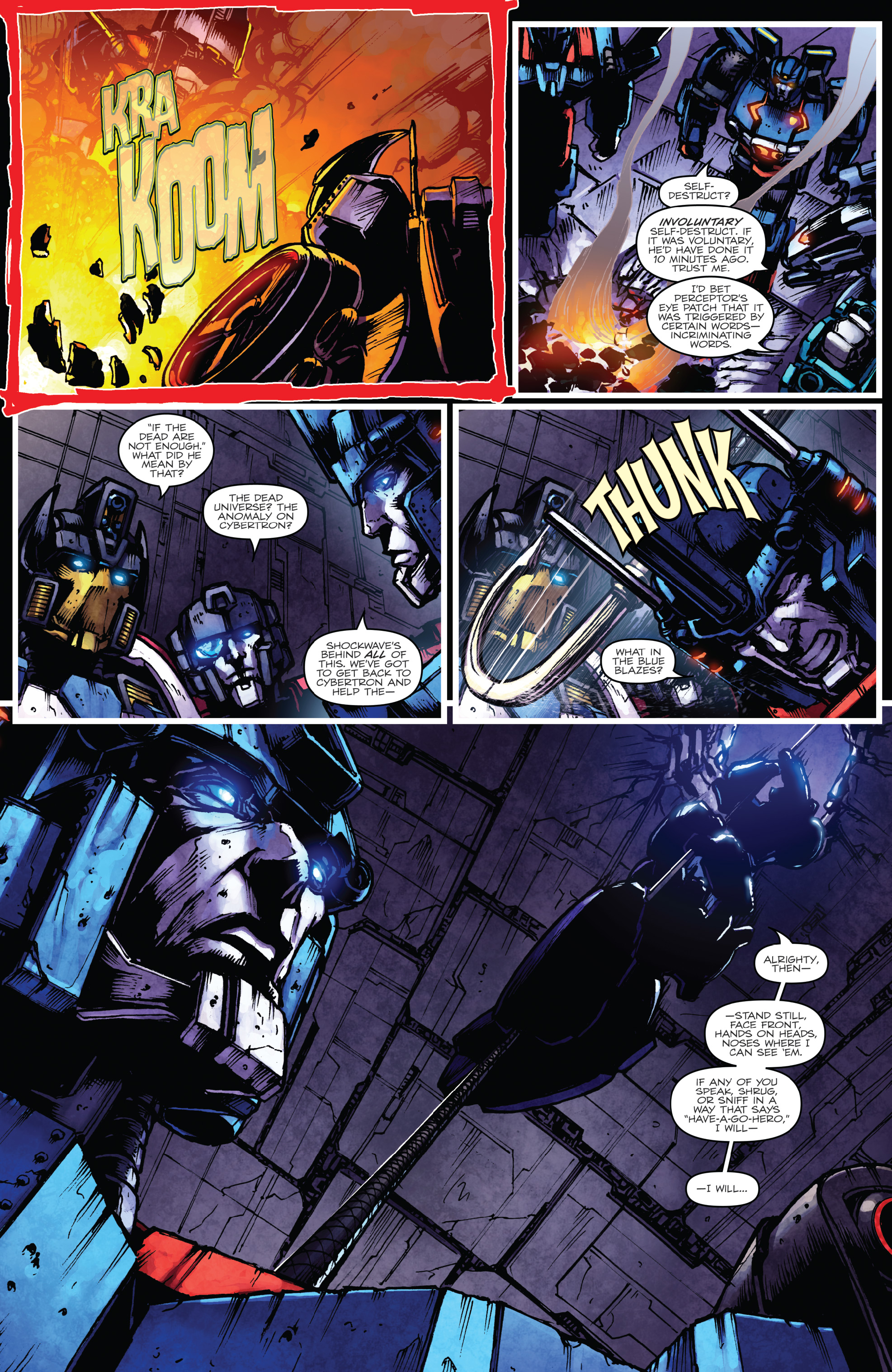 Read online The Transformers: Dark Cybertron Finale comic -  Issue # Full - 26