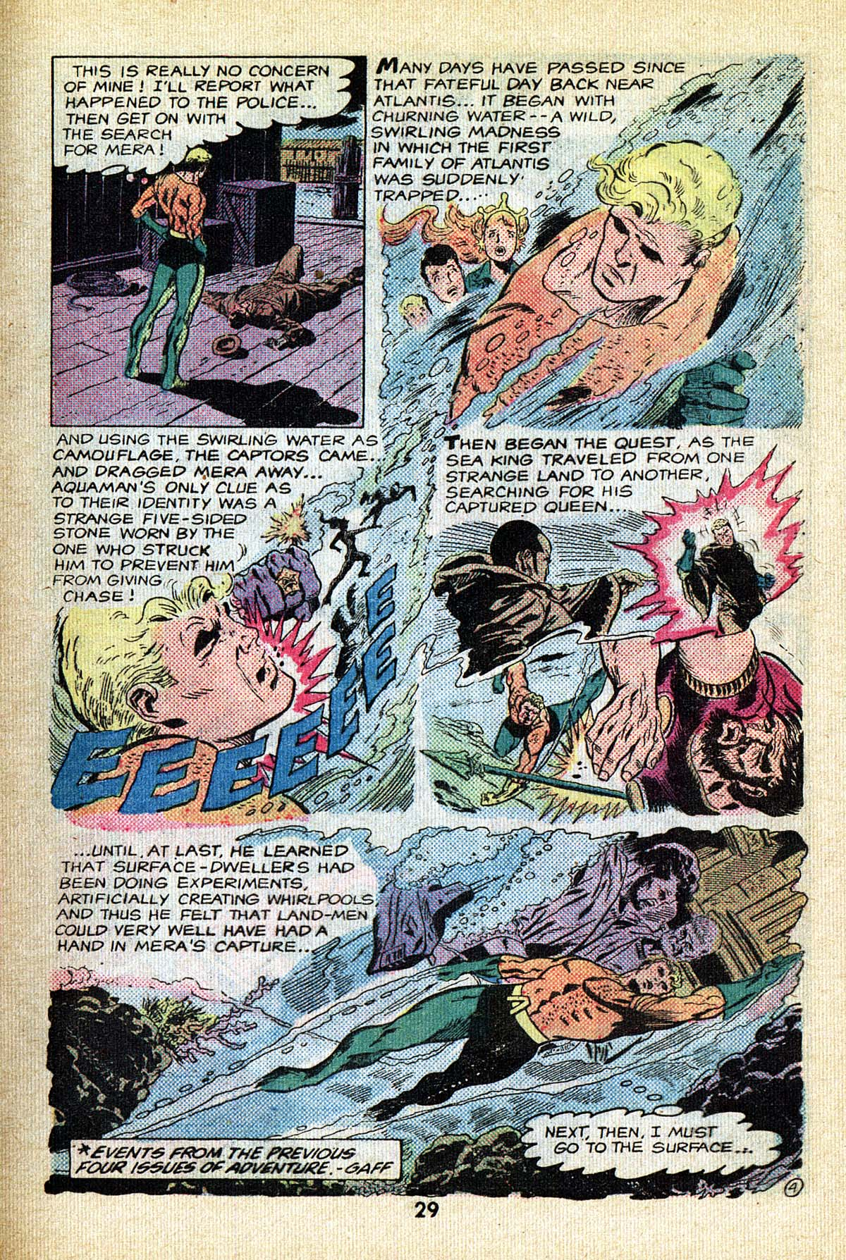 Read online Adventure Comics (1938) comic -  Issue #495 - 29