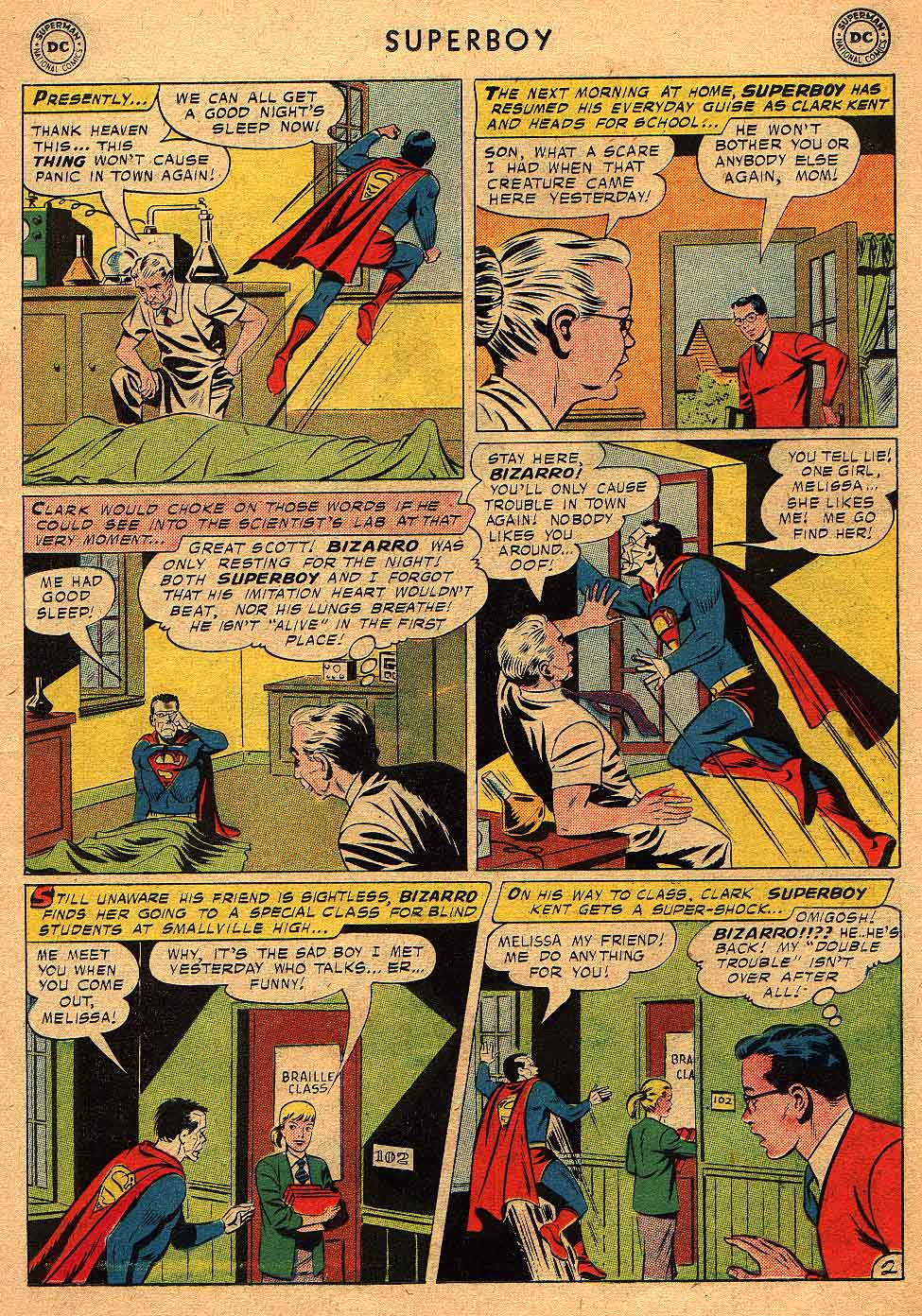 Superboy (1949) issue 68 - Page 13