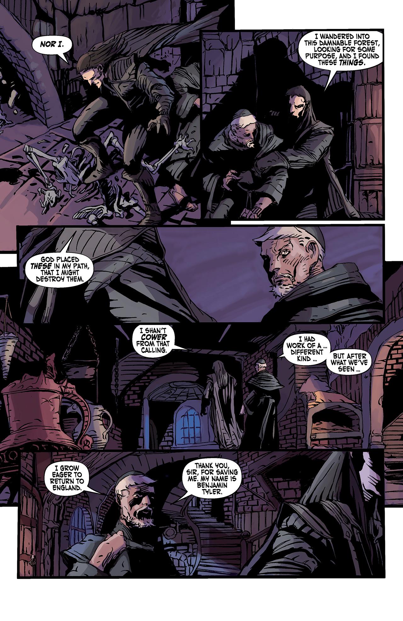 Read online Solomon Kane: Death's Black Riders comic -  Issue #3 - 16