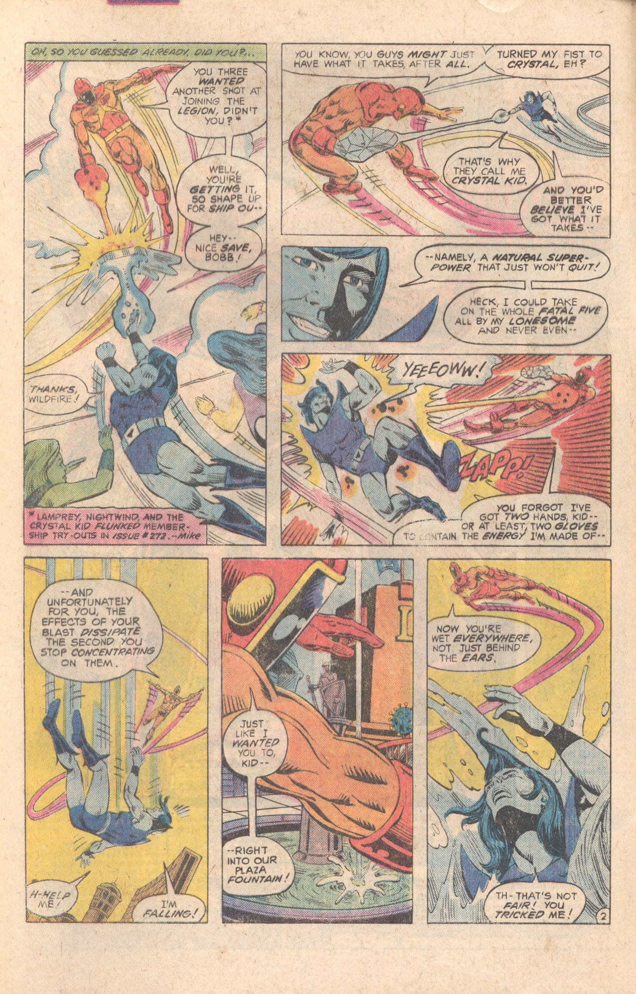 Legion of Super-Heroes (1980) 283 Page 2