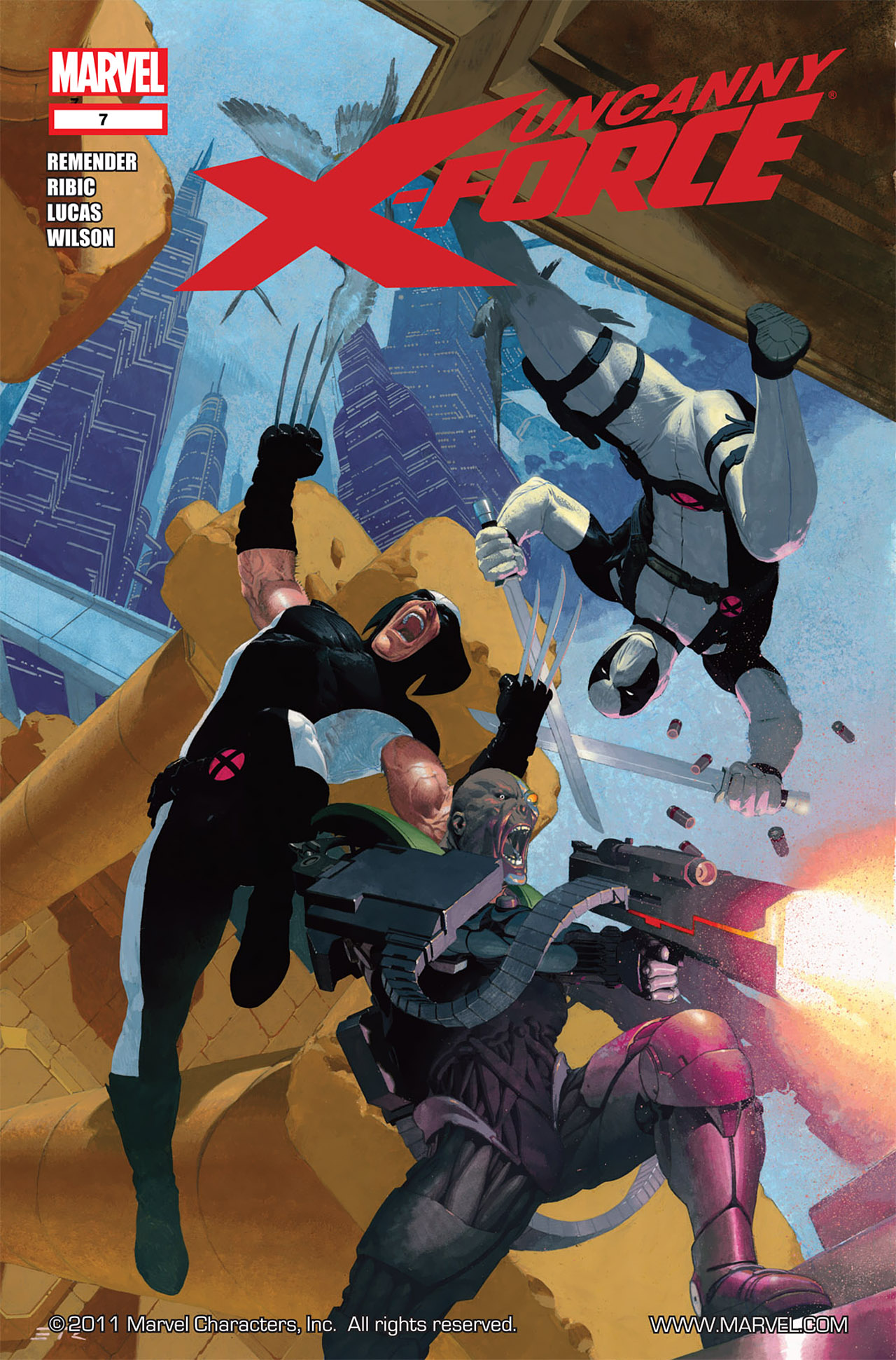 Read online Uncanny X-Force (2010) comic -  Issue #7 - 1