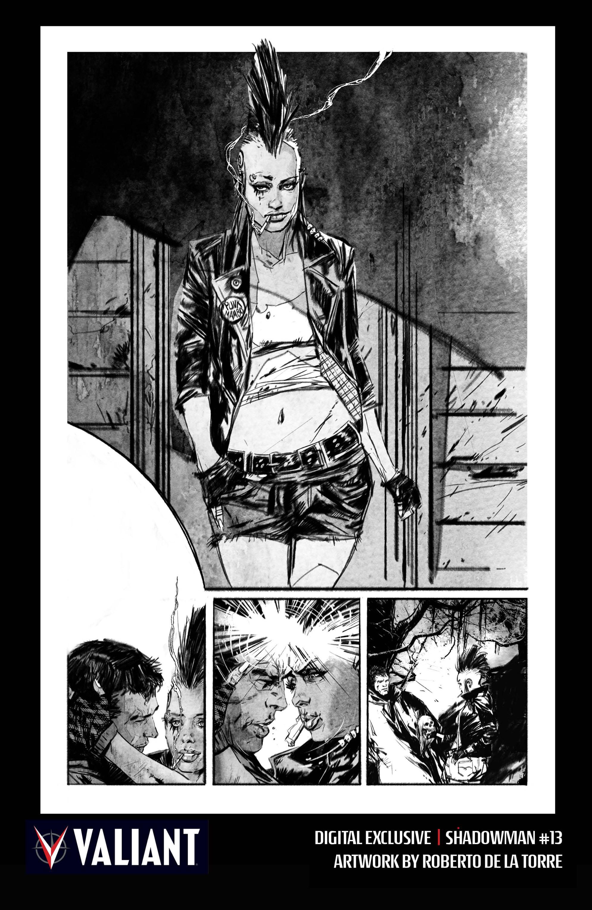 Read online Shadowman (2012) comic -  Issue #13 - 31