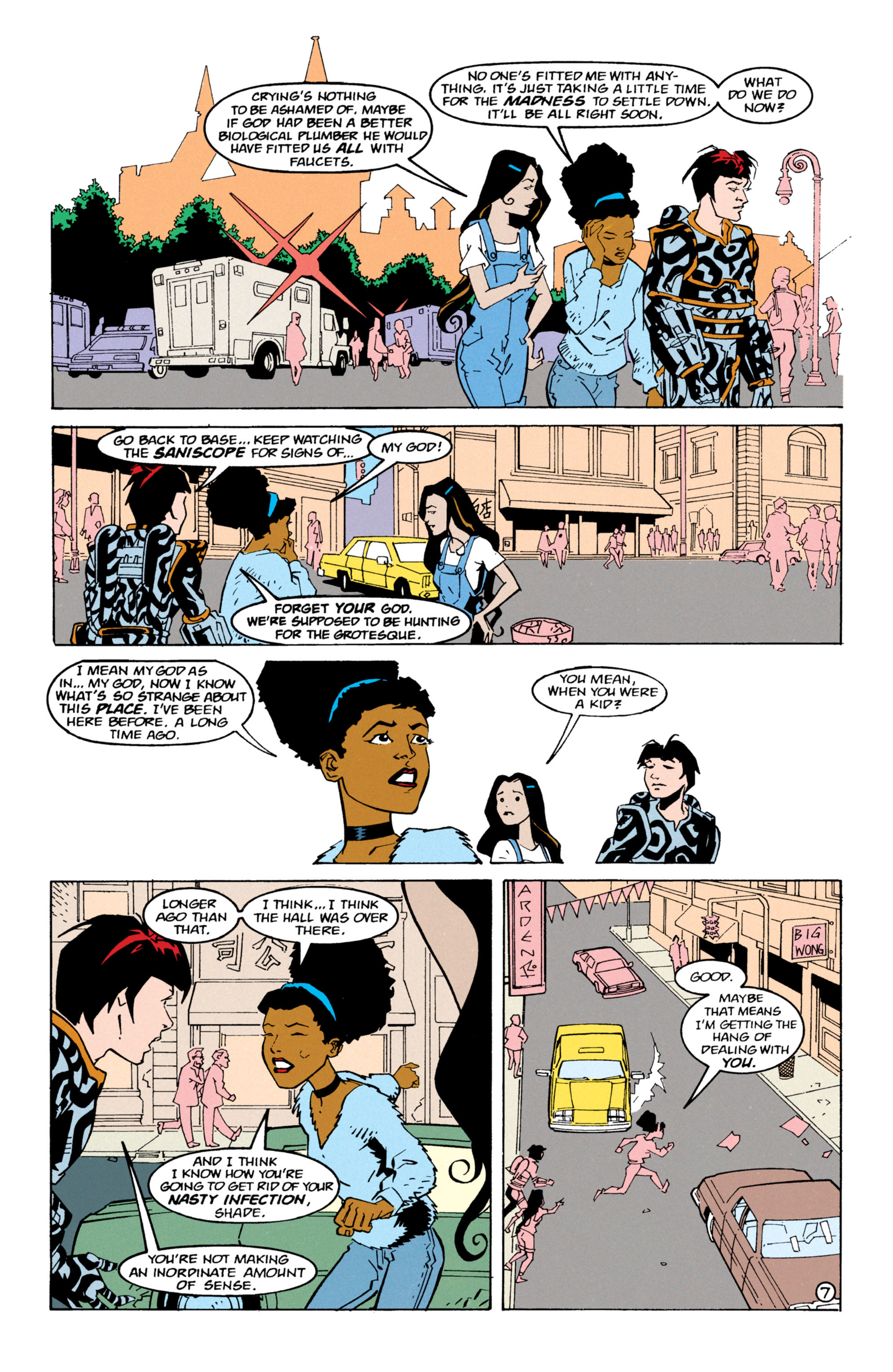 Read online Shade, the Changing Man comic -  Issue #63 - 8