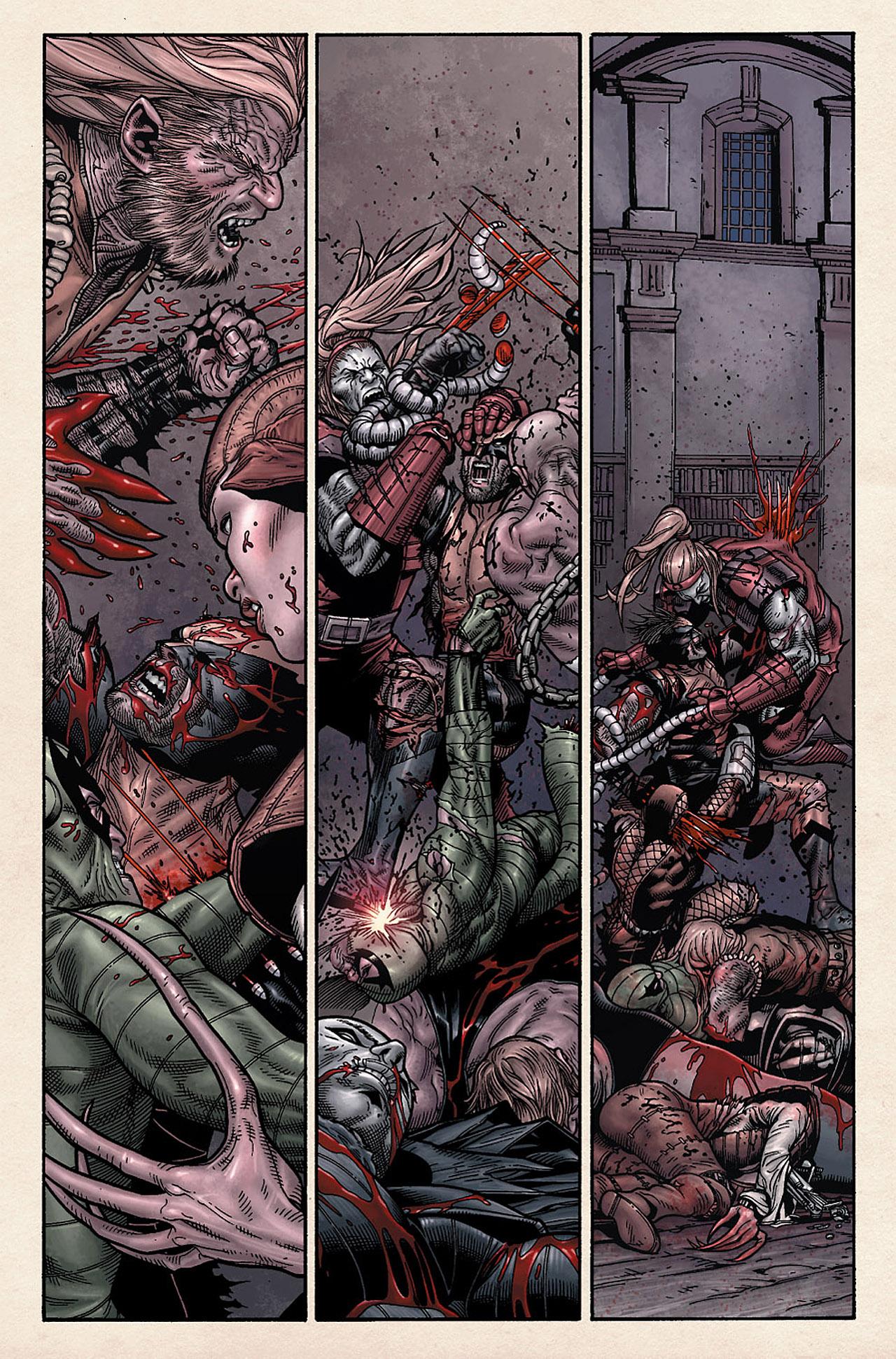 Read online Wolverine: Old Man Logan comic -  Issue # Full - 102
