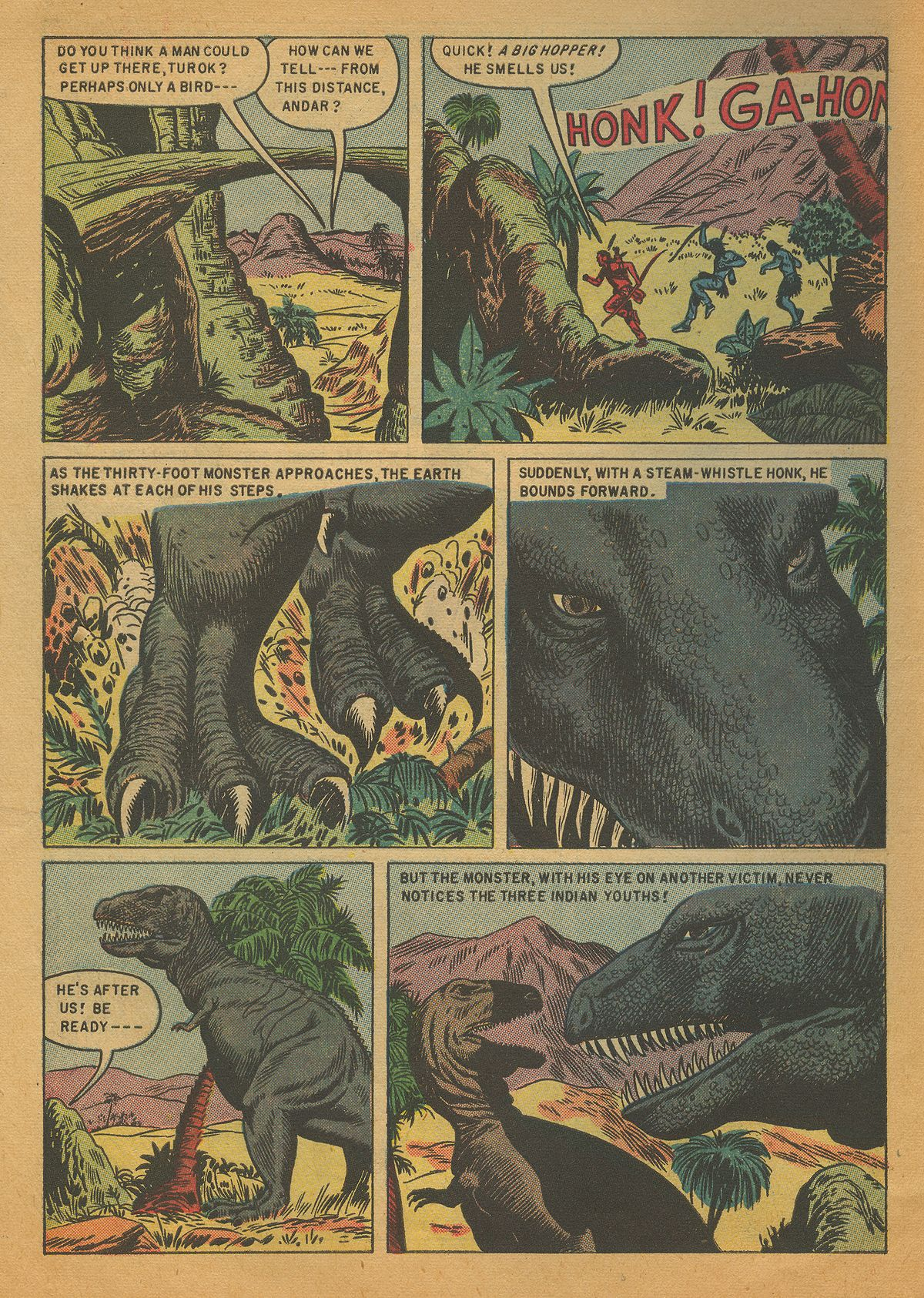 Read online Turok, Son of Stone comic -  Issue #4 - 10