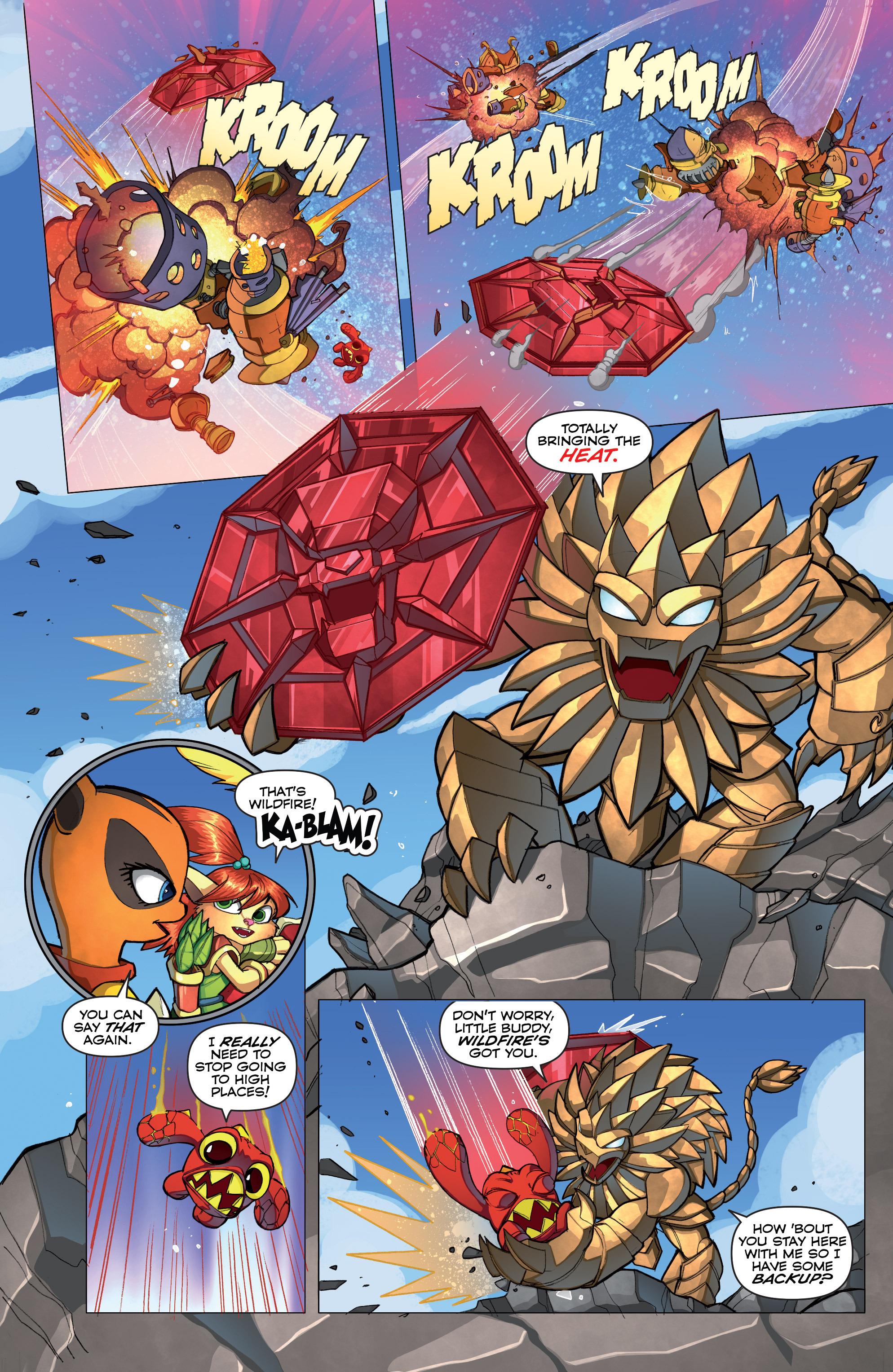 Read online Skylanders comic -  Issue #2 - 16