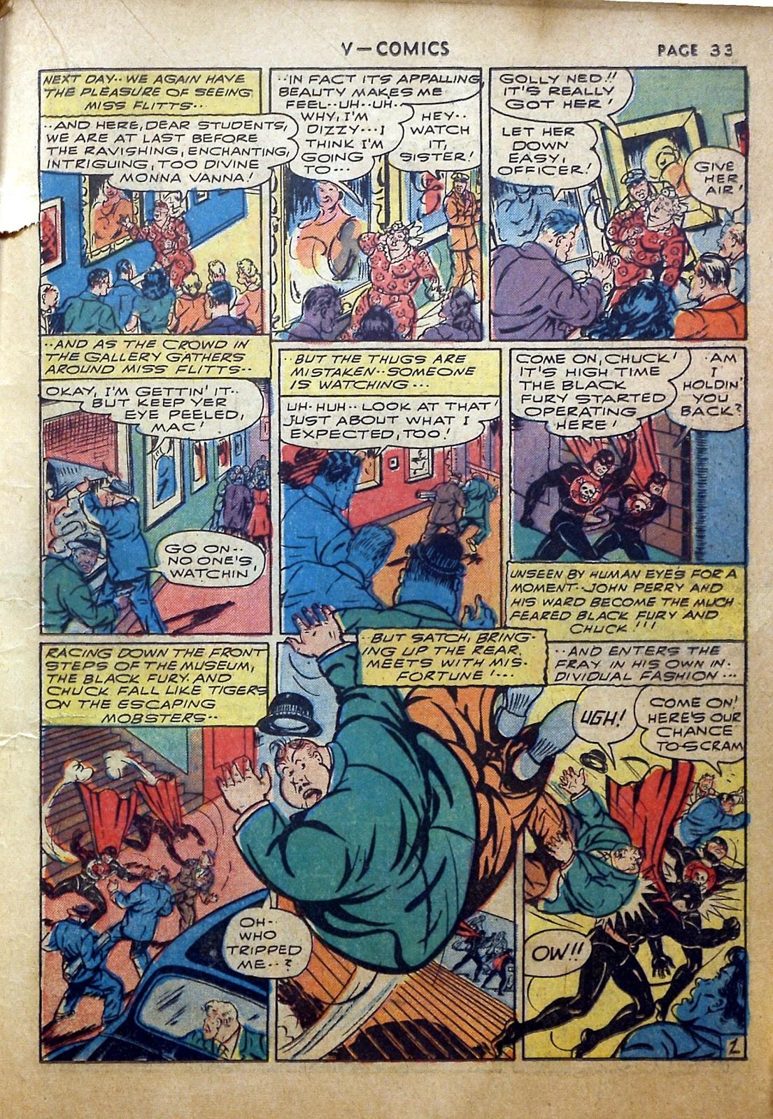 Read online V...- Comics comic -  Issue #2 - 34