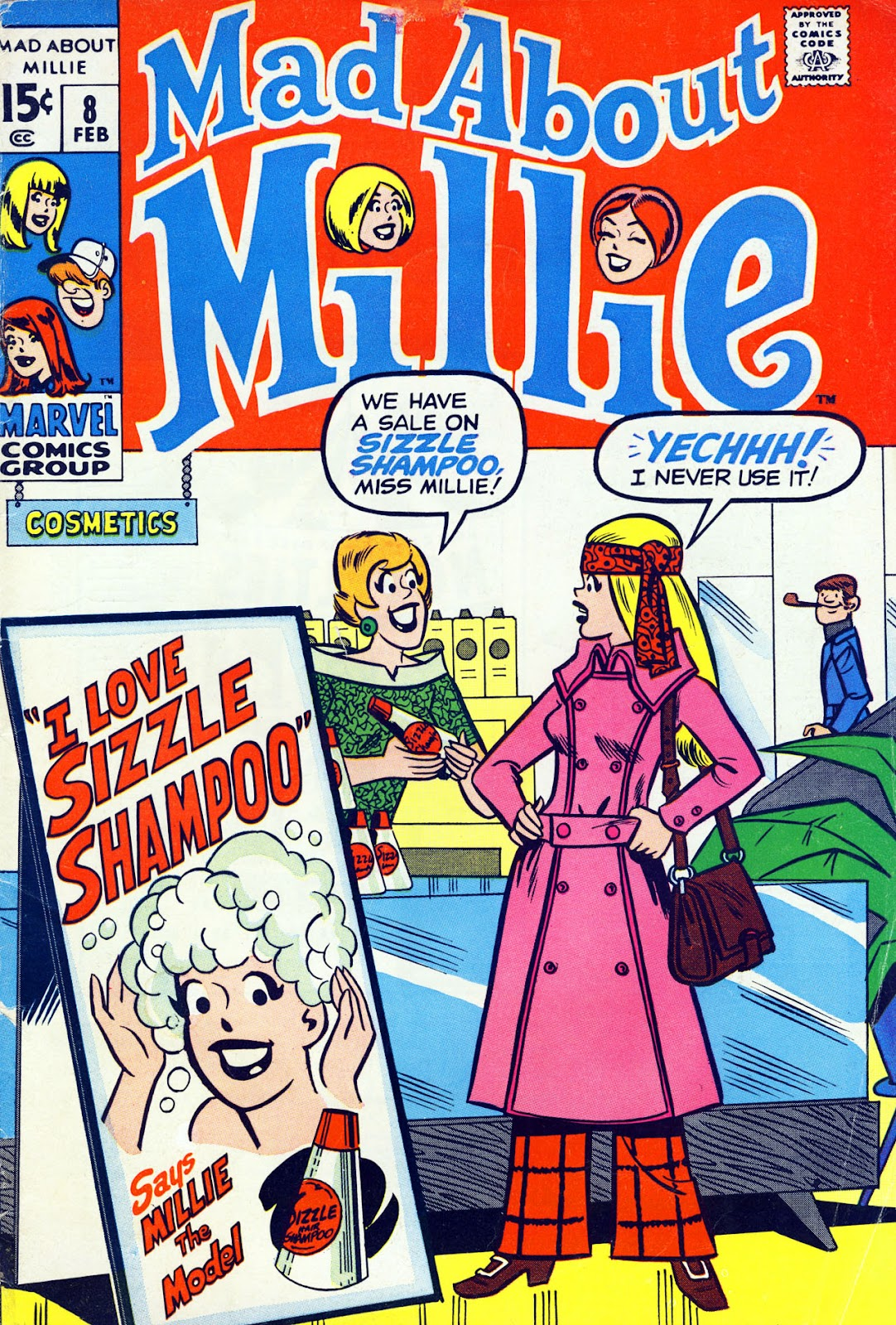 Mad About Millie 8 Page 1