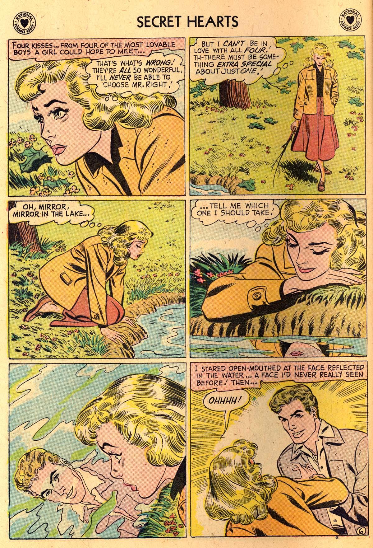 Read online Secret Hearts comic -  Issue #52 - 8