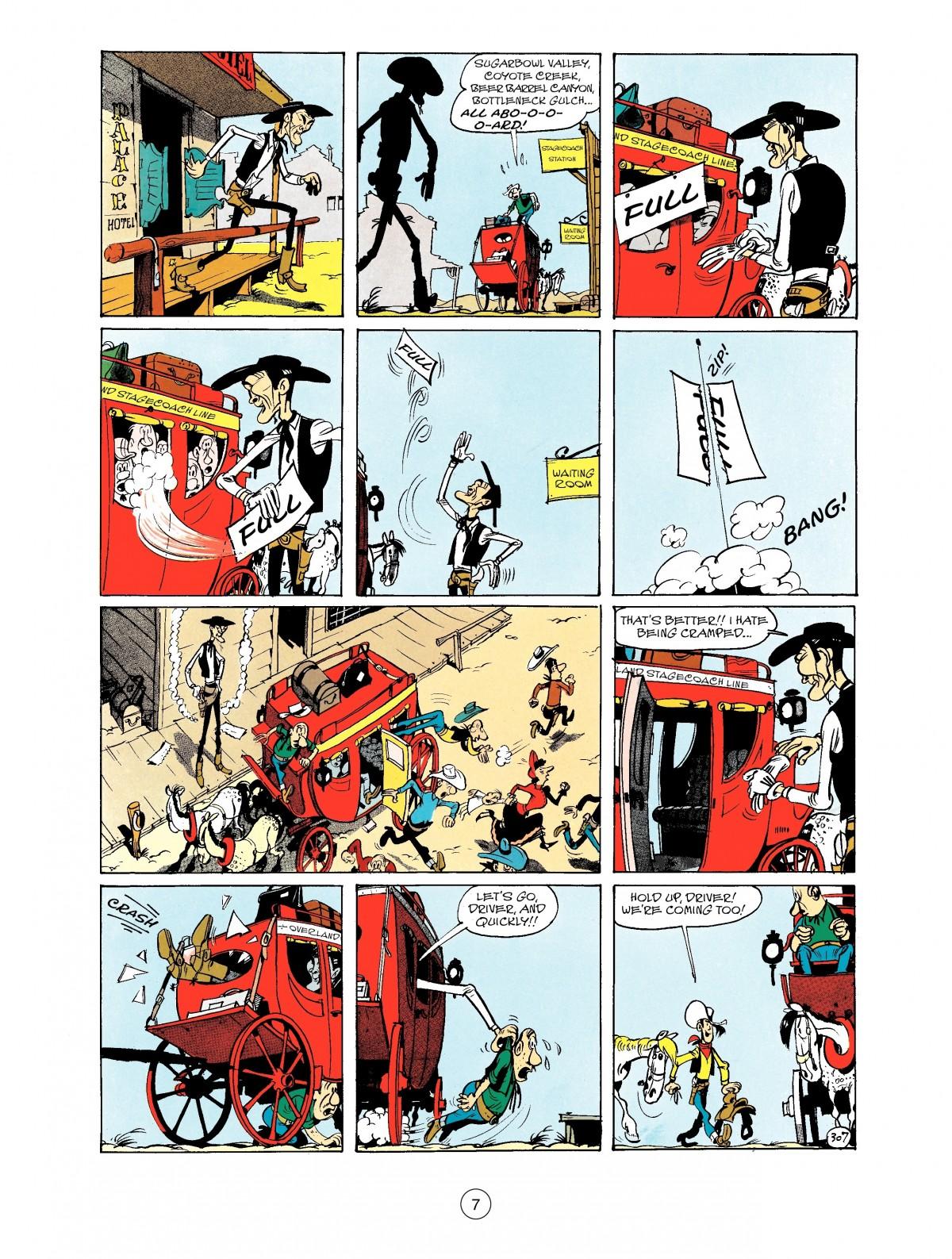 Read online A Lucky Luke Adventure comic -  Issue #40 - 7