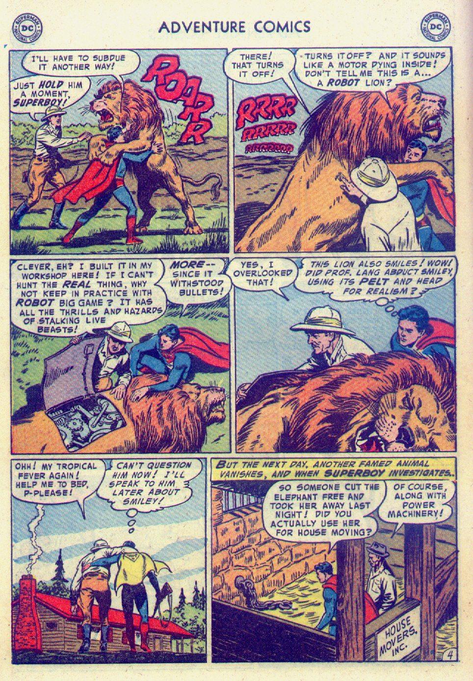 Read online Adventure Comics (1938) comic -  Issue #201 - 6
