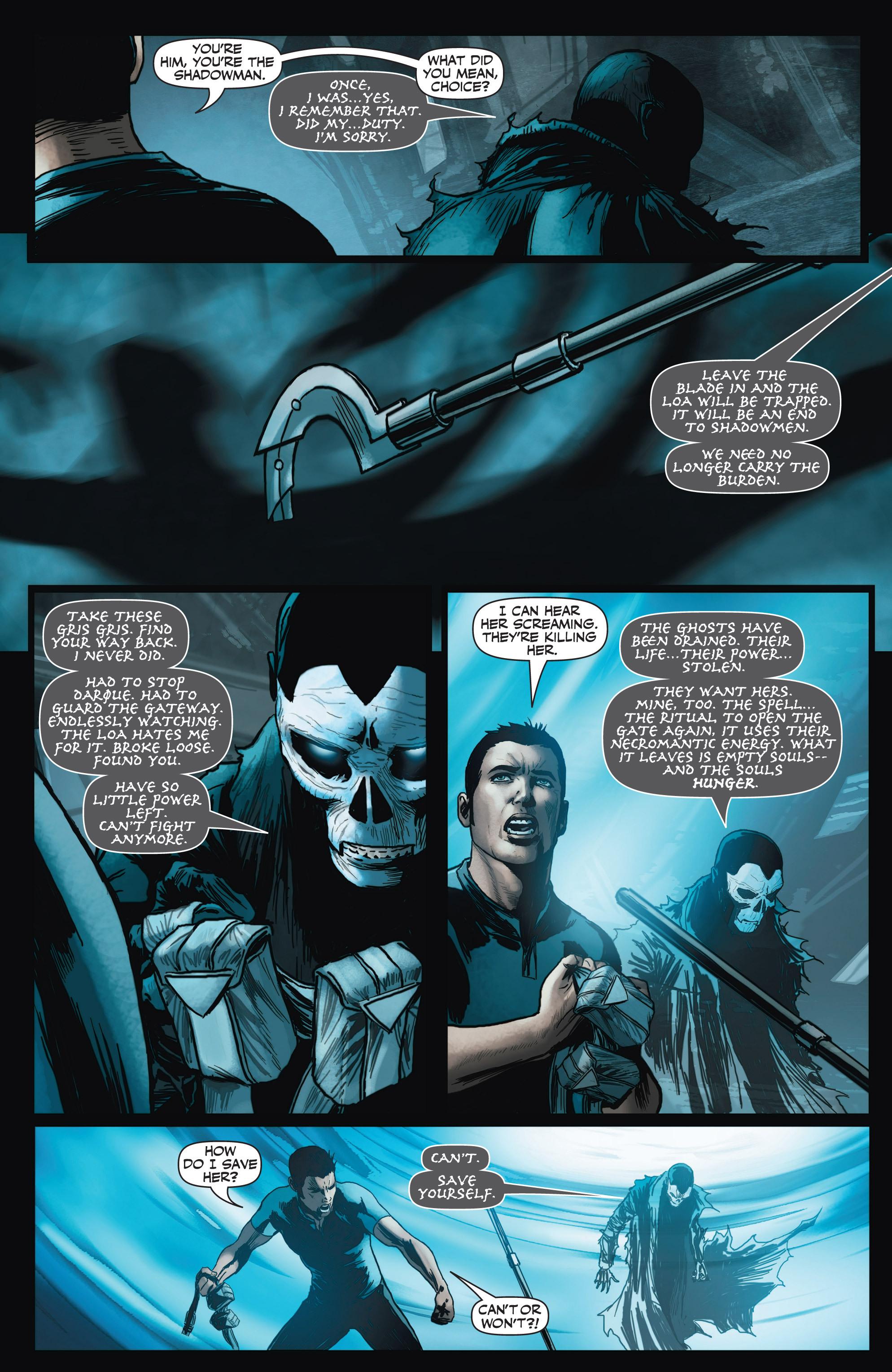 Read online Shadowman (2012) comic -  Issue #3 - 20