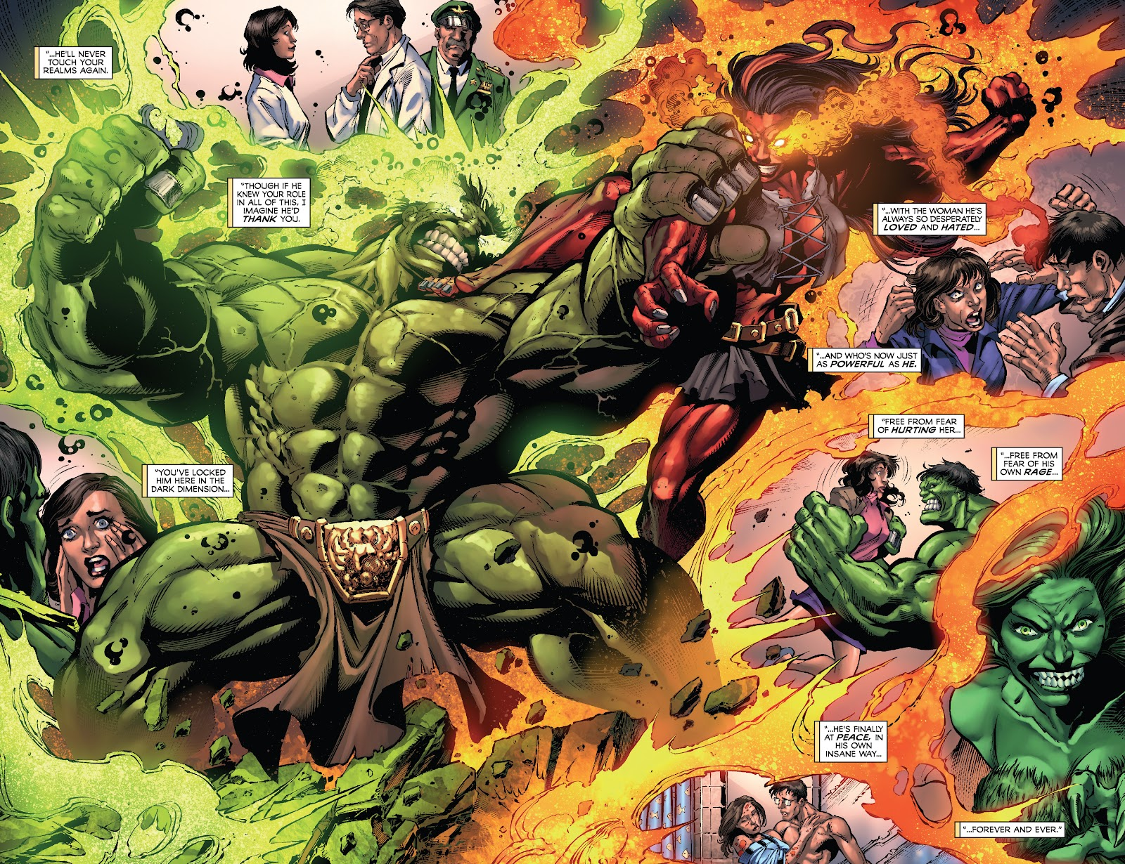 Read online Incredible Hulks (2010) comic -  Issue # _TPB Heart of the Monster - 104