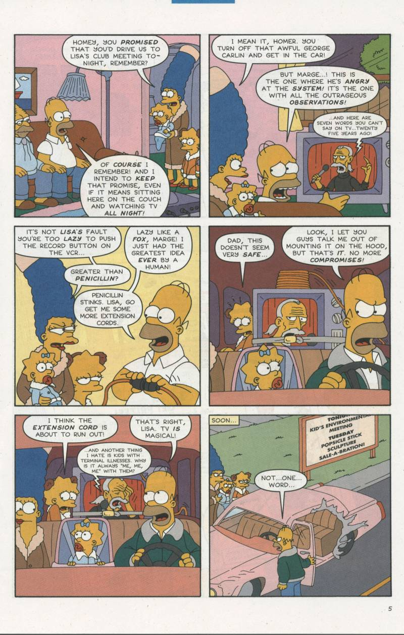 Read online Simpsons Comics comic -  Issue #67 - 6