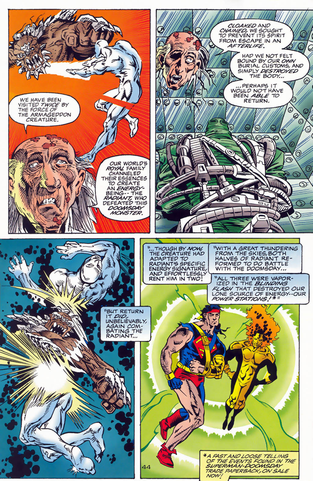 Read online Doomsday Annual comic -  Issue # Full - 46