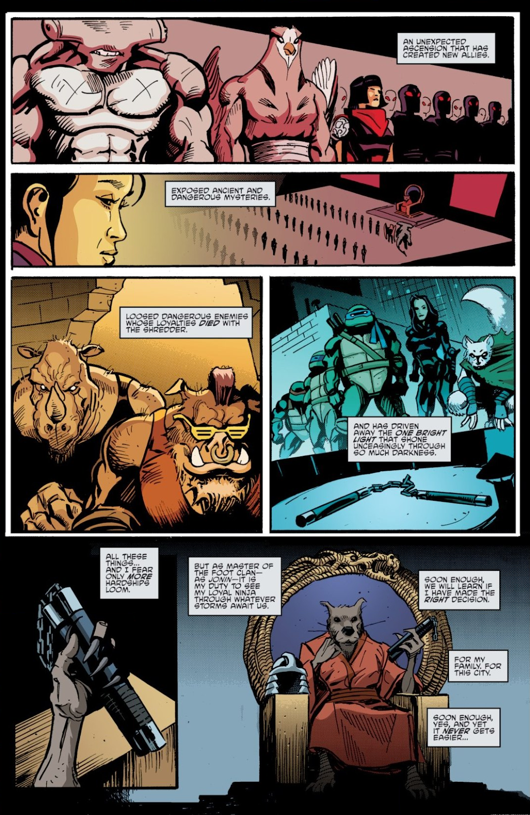 Read online Teenage Mutant Ninja Turtles: The IDW Collection comic -  Issue # TPB 7 (Part 1) - 16