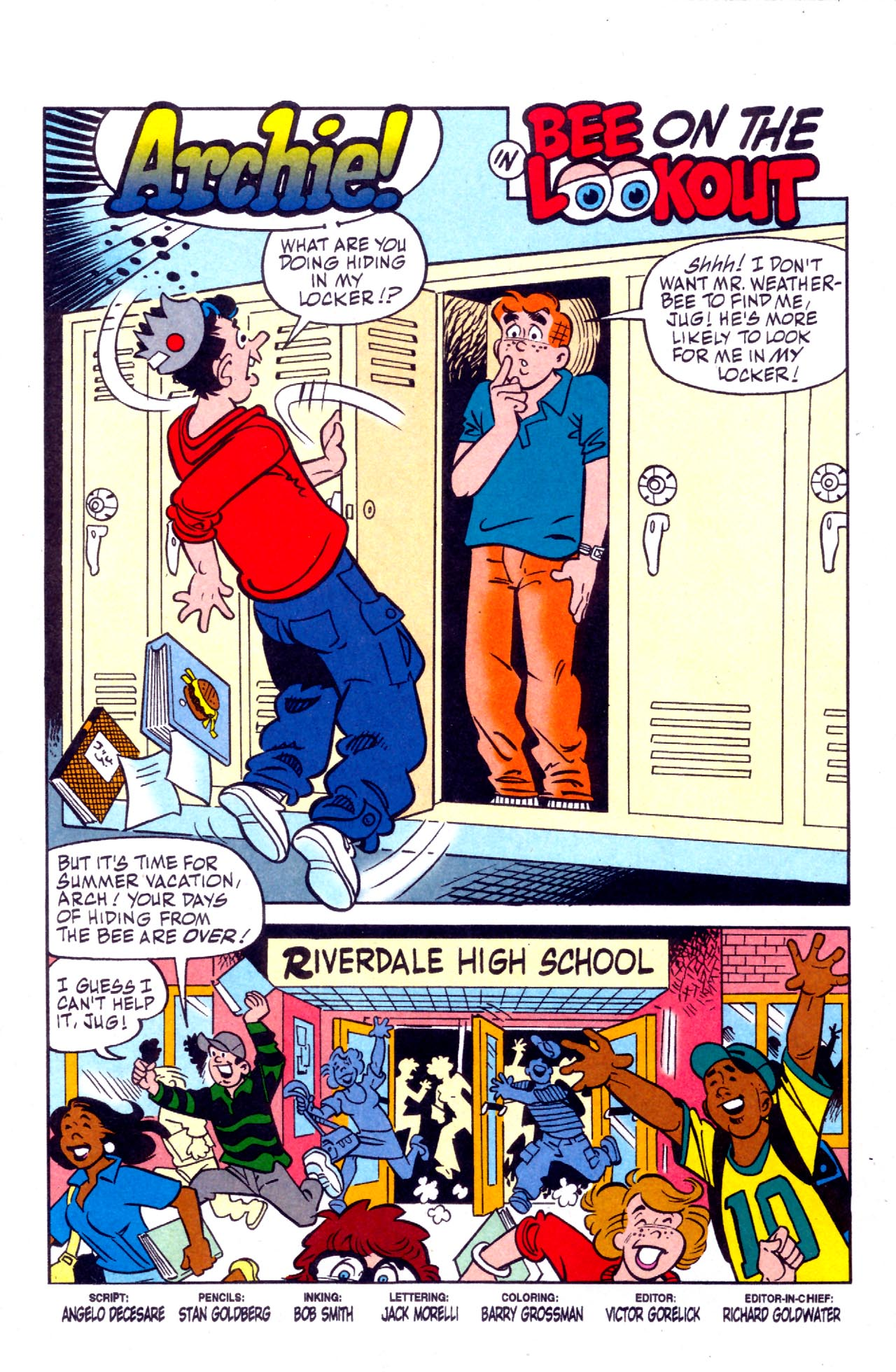 Read online Archie (1960) comic -  Issue #575 - 2