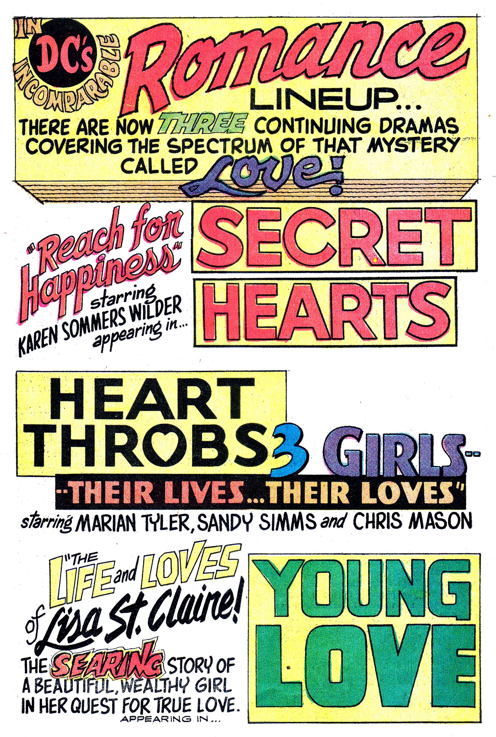 Read online Secret Hearts comic -  Issue #132 - 33