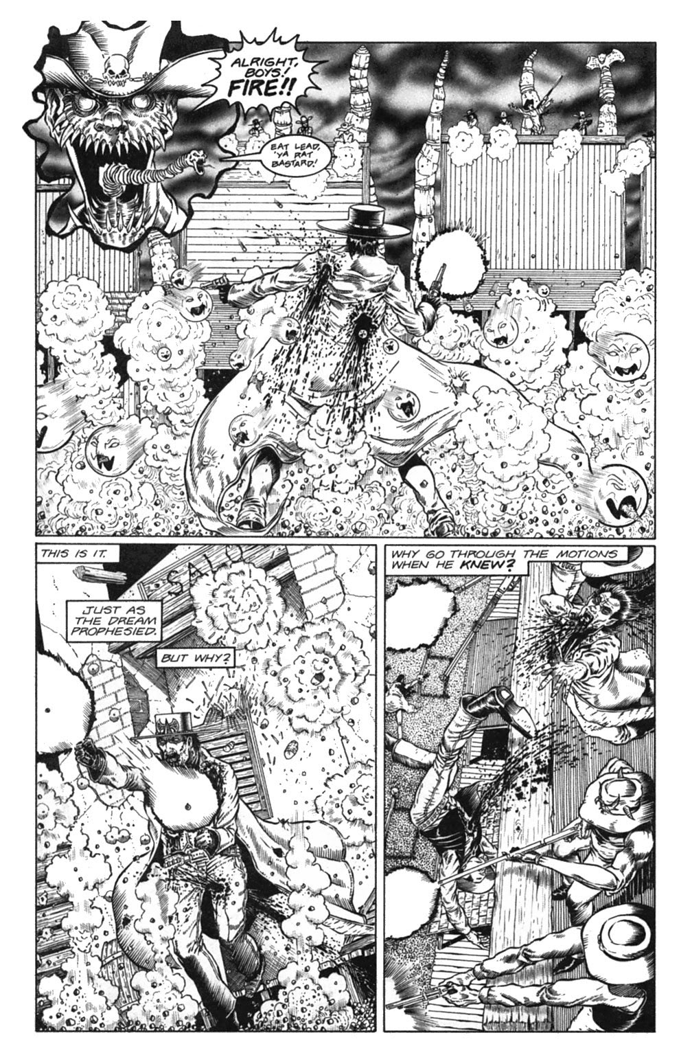 Read online Gunfighters in Hell comic -  Issue #3 - 25