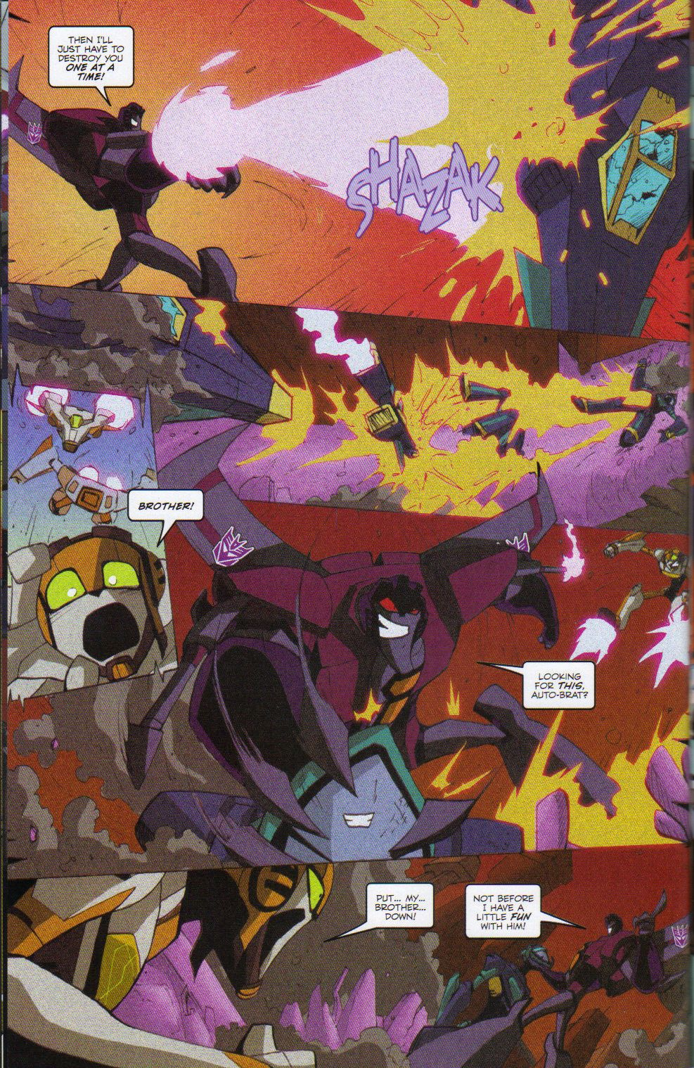 Read online Transformers Animated: The Arrival comic -  Issue #6 - 20