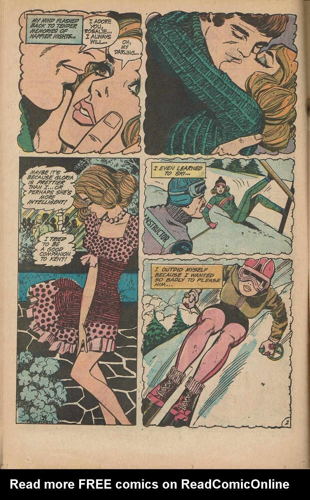 Read online Secret Hearts comic -  Issue #151 - 16