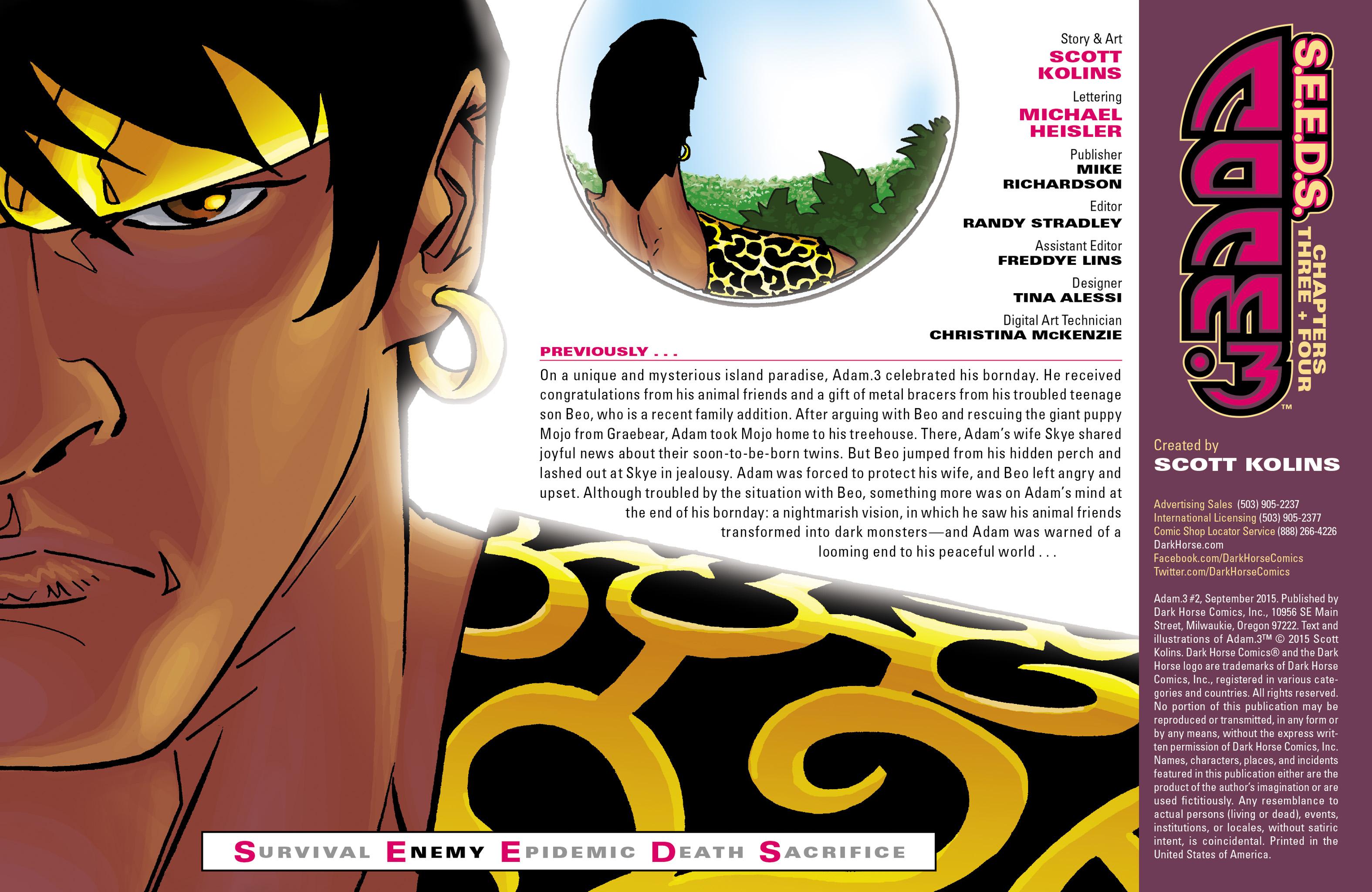 Read online Adam.3 comic -  Issue #2 - 2