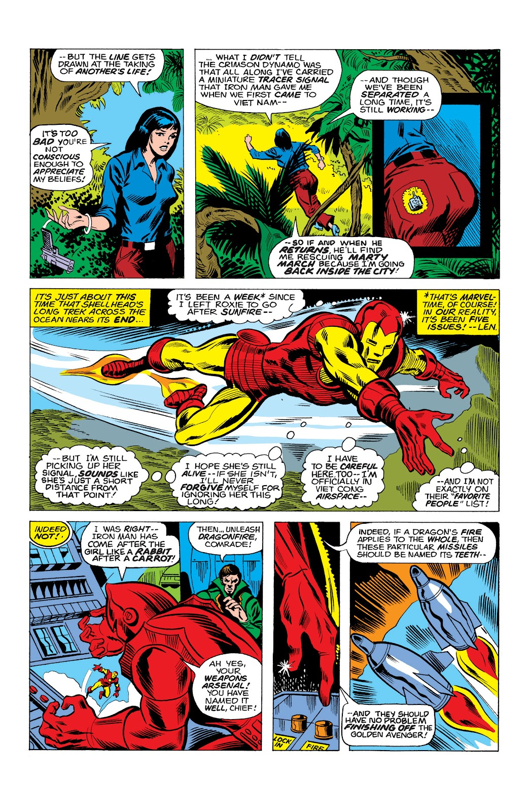 Read online Marvel Masterworks: The Invincible Iron Man comic -  Issue # TPB 10 (Part 2) - 7