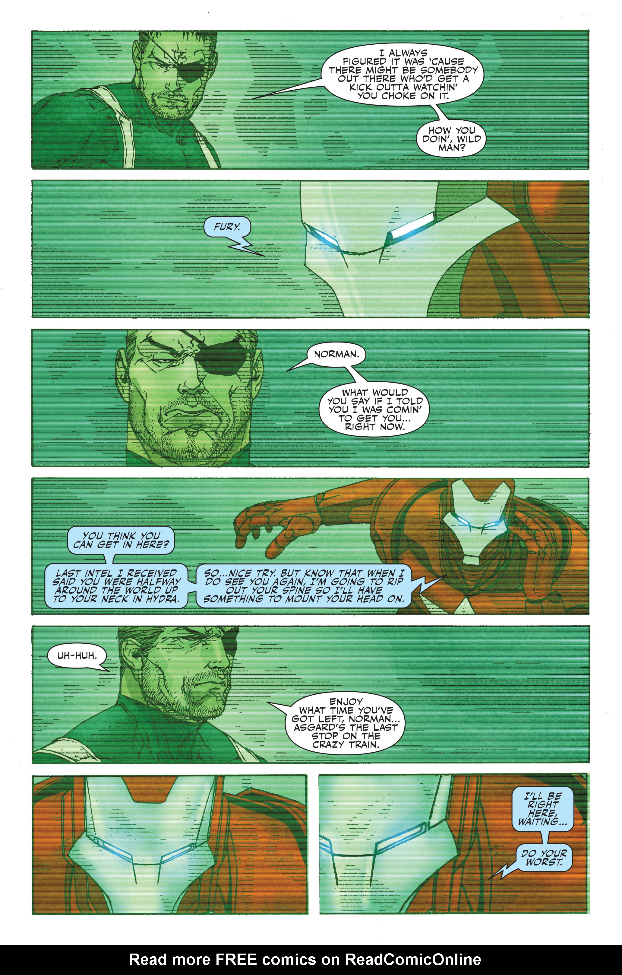 Read online Siege: Secret Warriors comic -  Issue # Full - 9