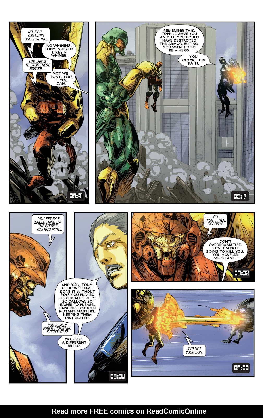 Iron Man: House of M Issue #3 #3 - English 12