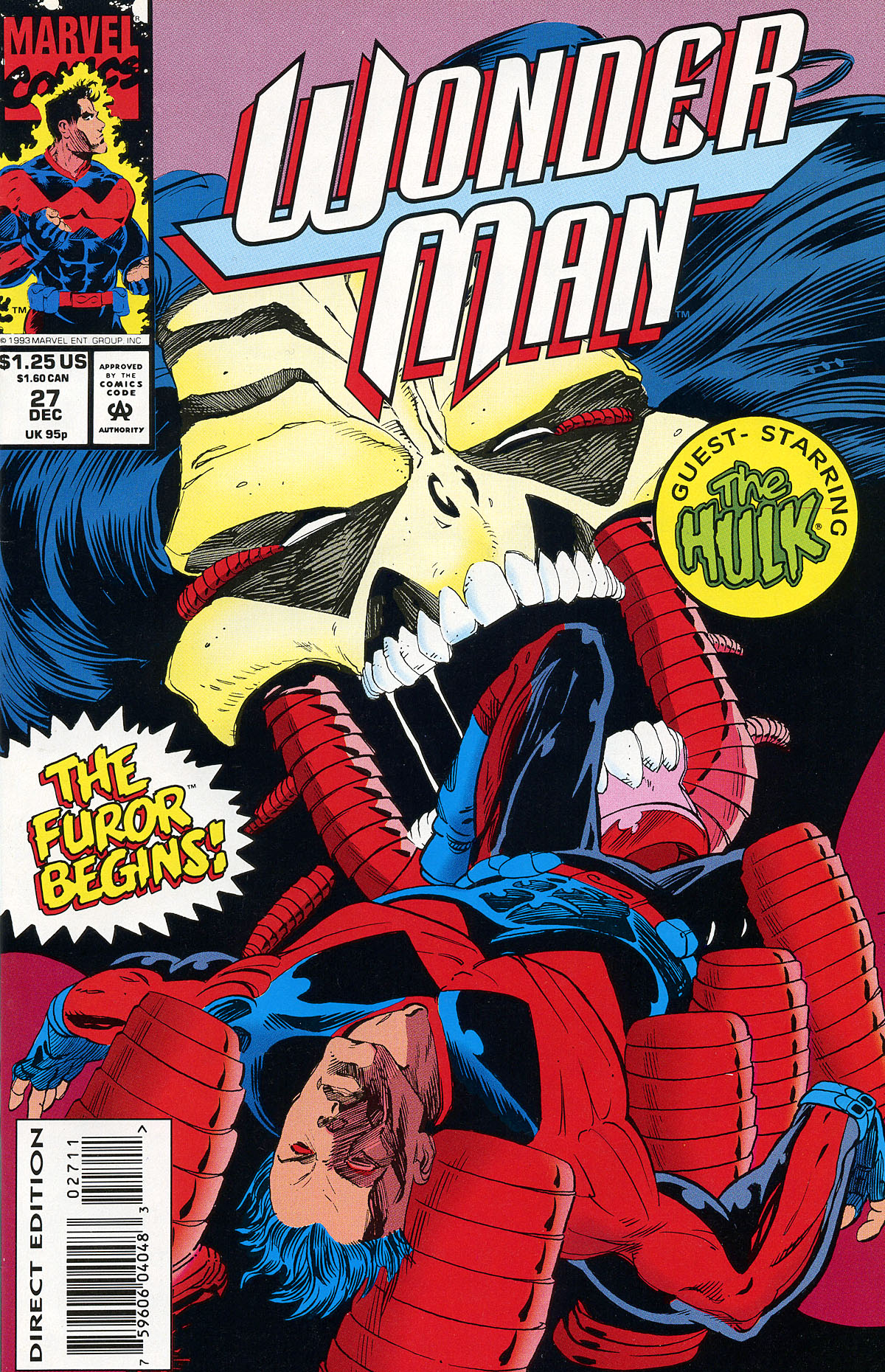 Read online Wonder Man (1991) comic -  Issue #27 - 1