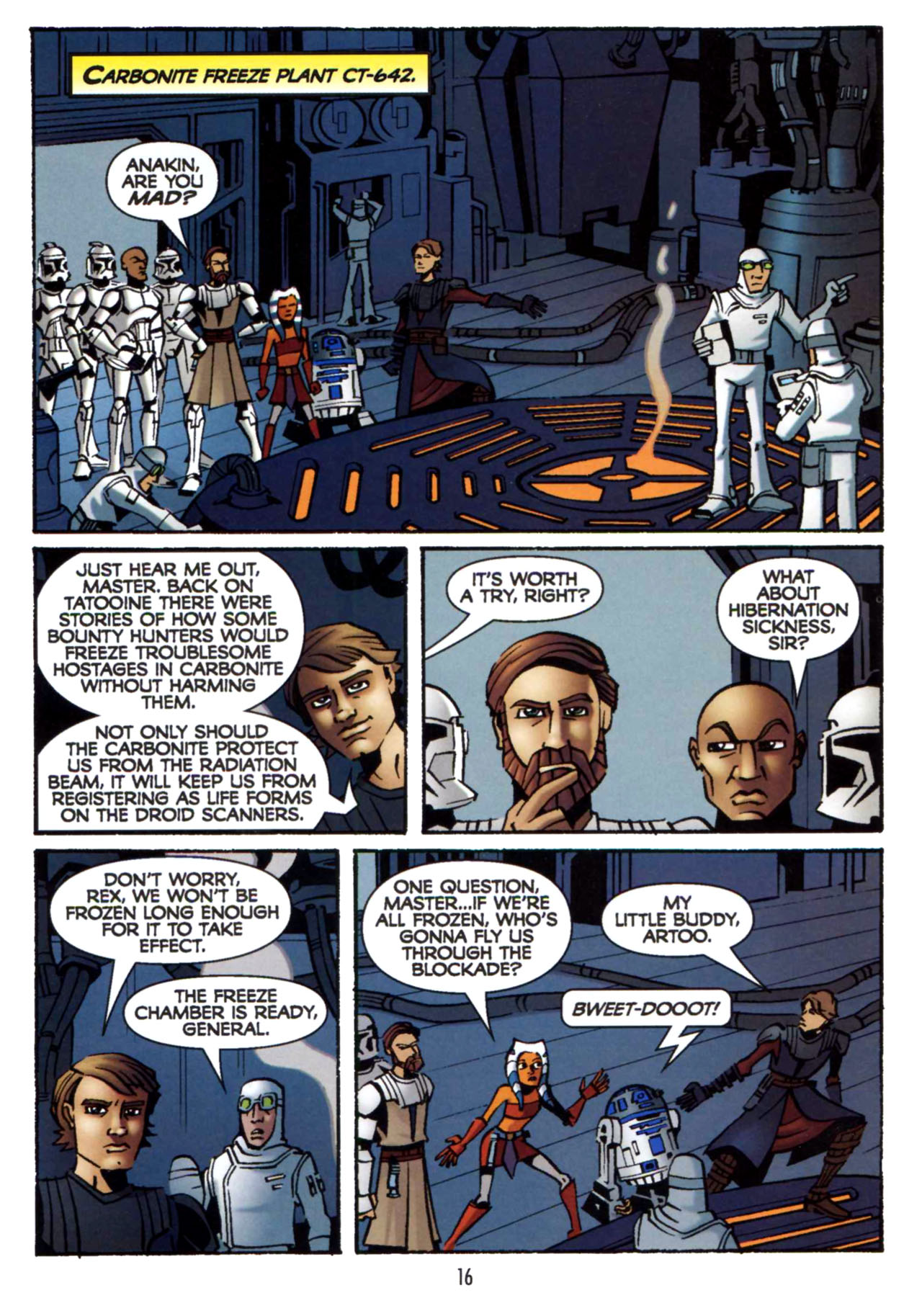 Read online Star Wars: The Clone Wars - Shipyards of Doom comic -  Issue # Full - 15