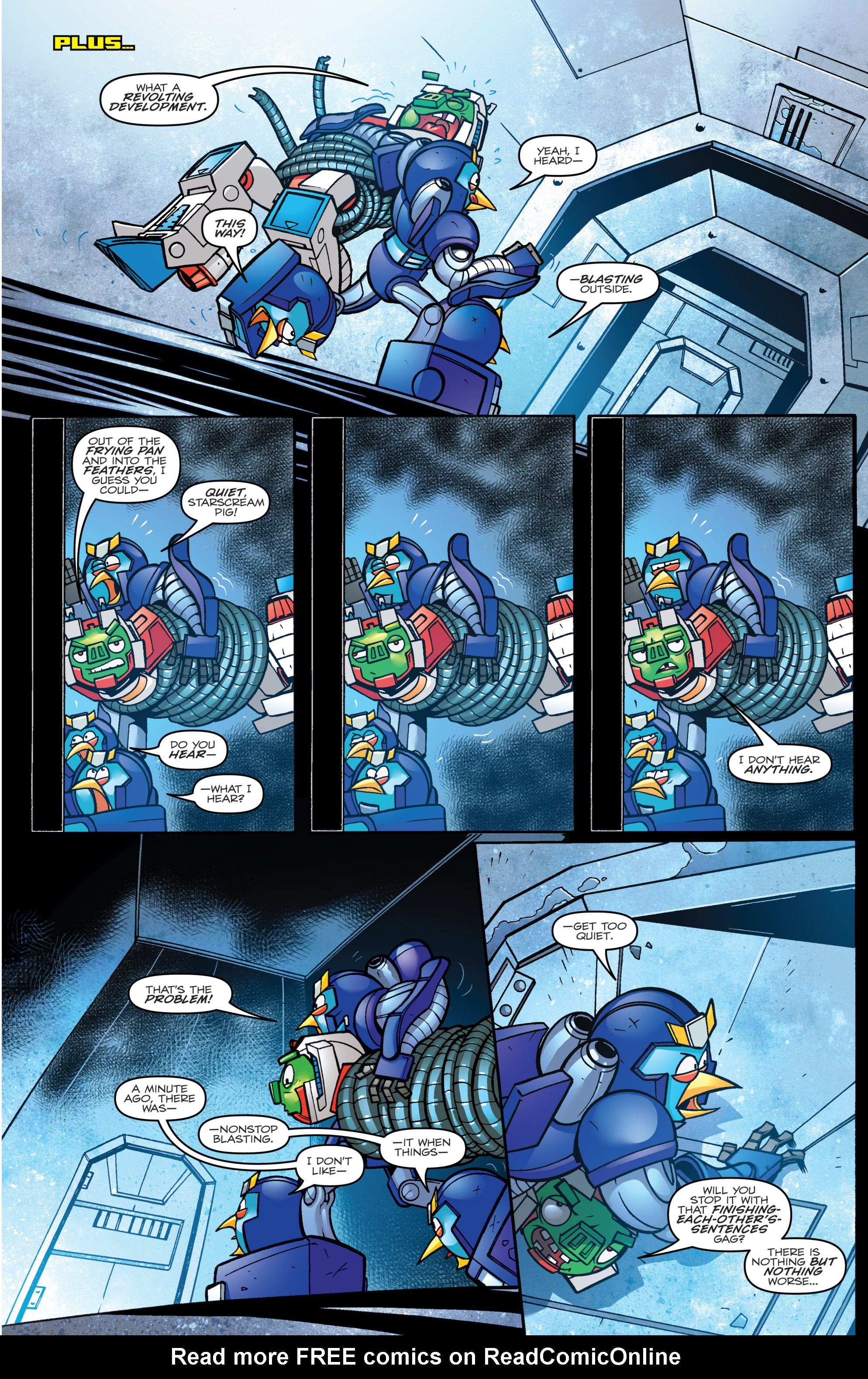 Read online Angry Birds Transformers comic -  Issue #3 - 16