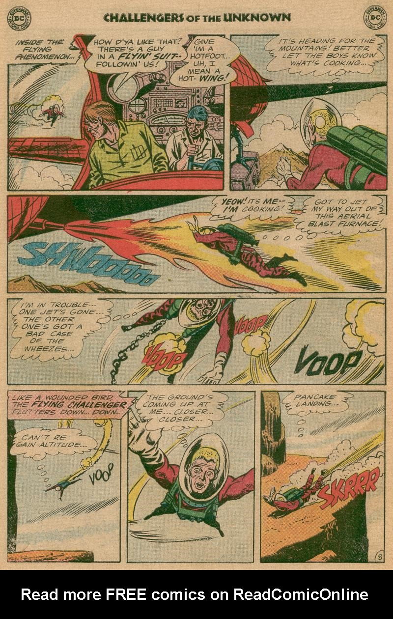 Challengers of the Unknown (1958) issue 40 - Page 10