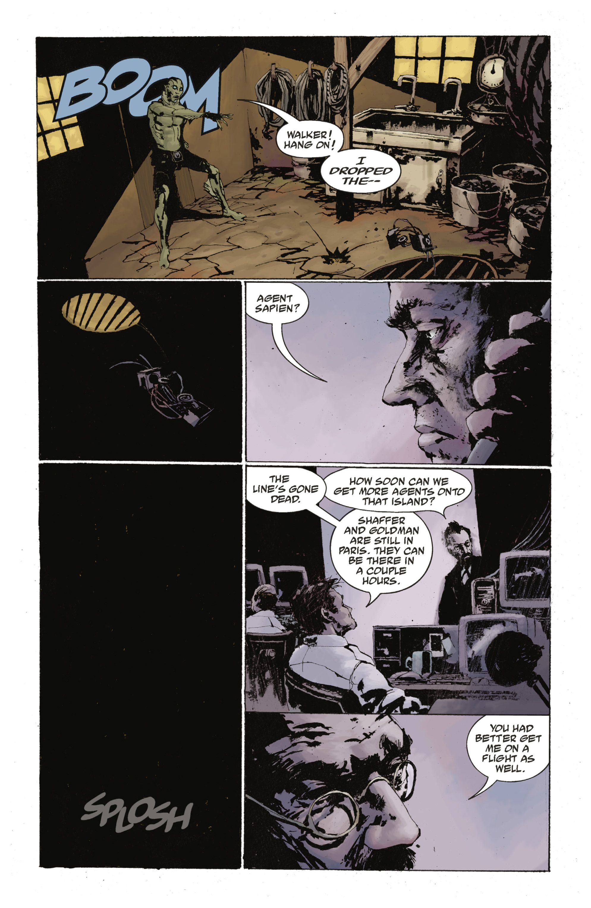 Read online Abe Sapien: The Drowning comic -  Issue #Abe Sapien: The Drowning _TPB - 76