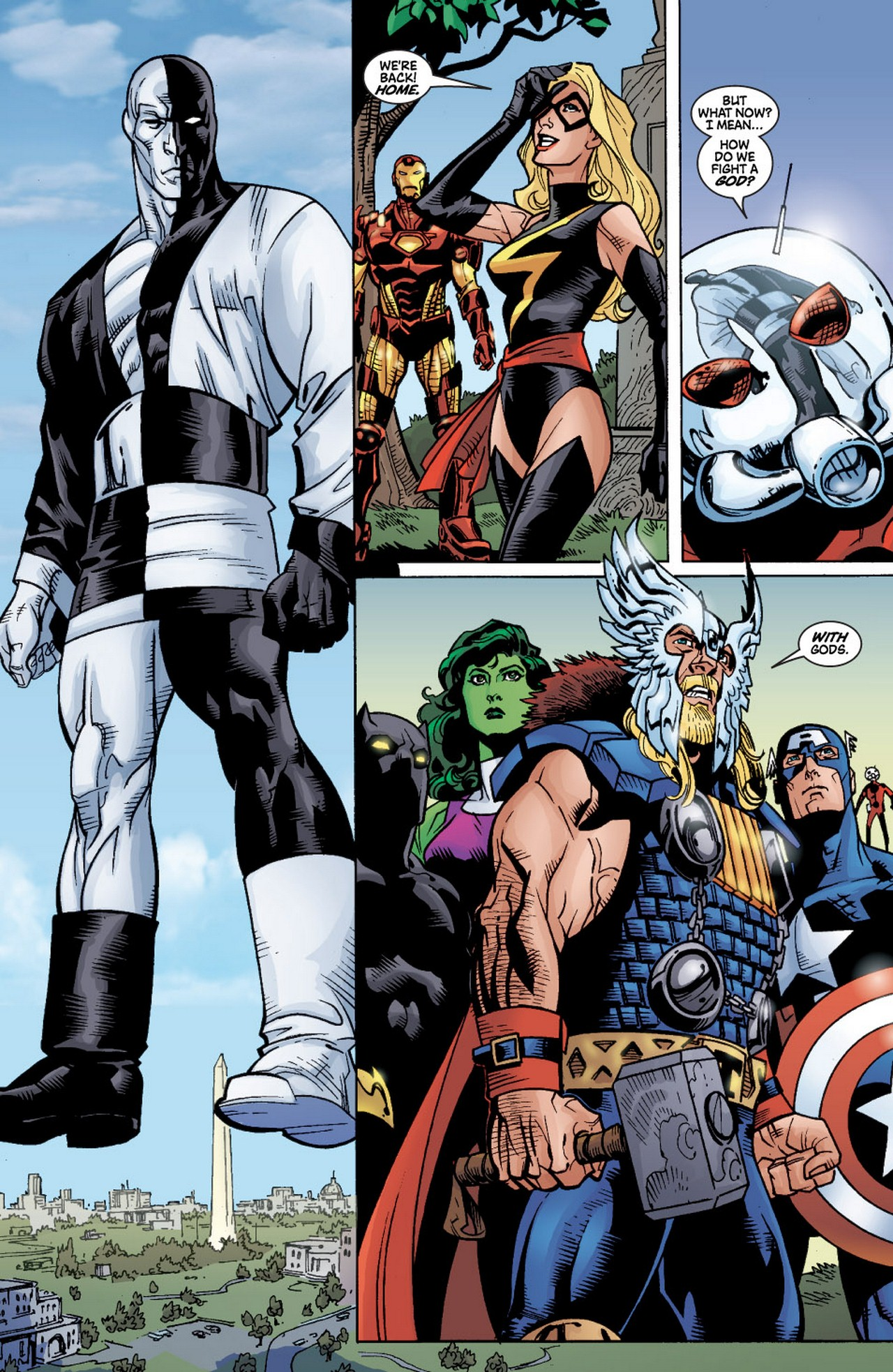 Read online Avengers (1998) comic -  Issue #60 - 22