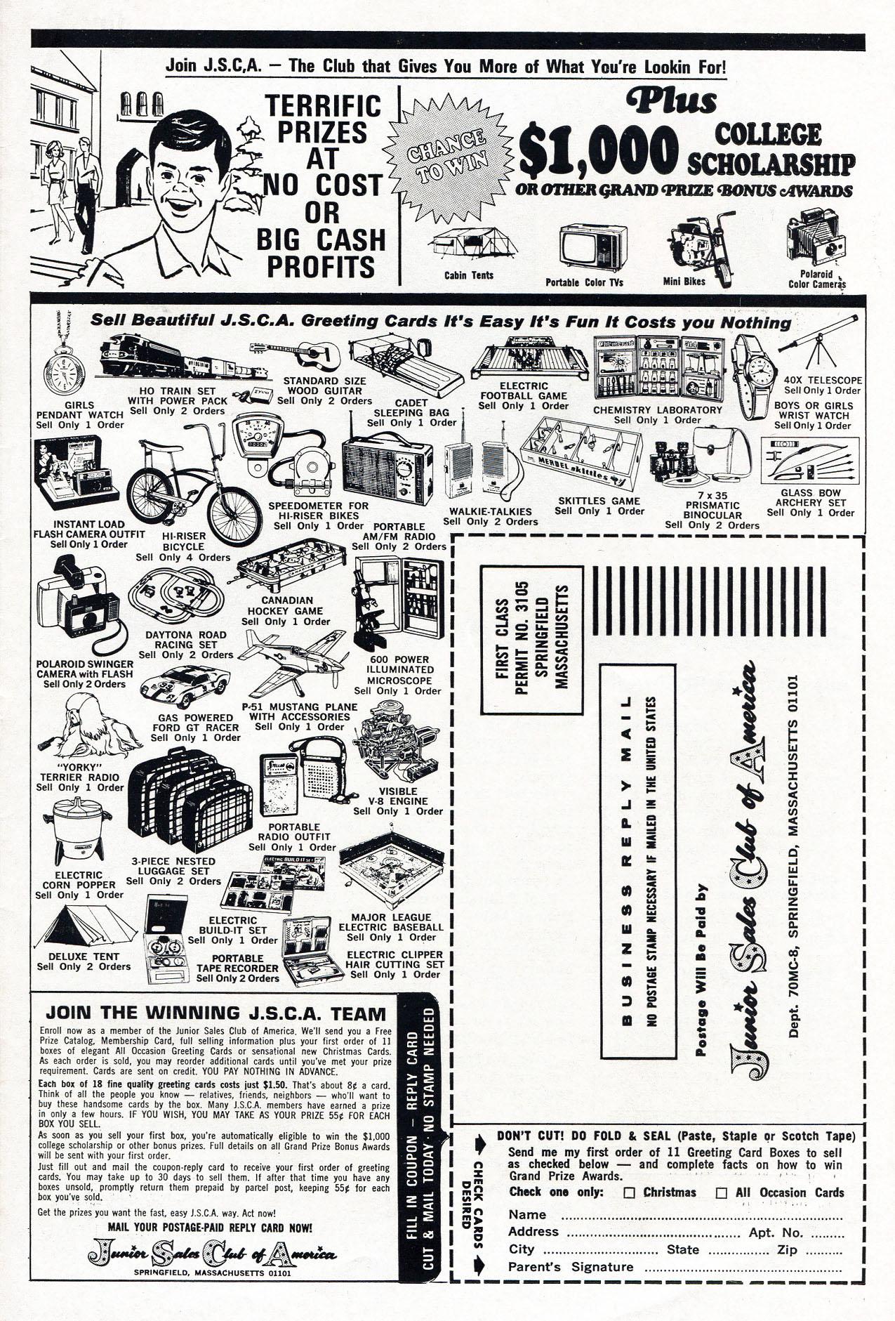 Read online Amazing Adventures (1970) comic -  Issue #3 - 35