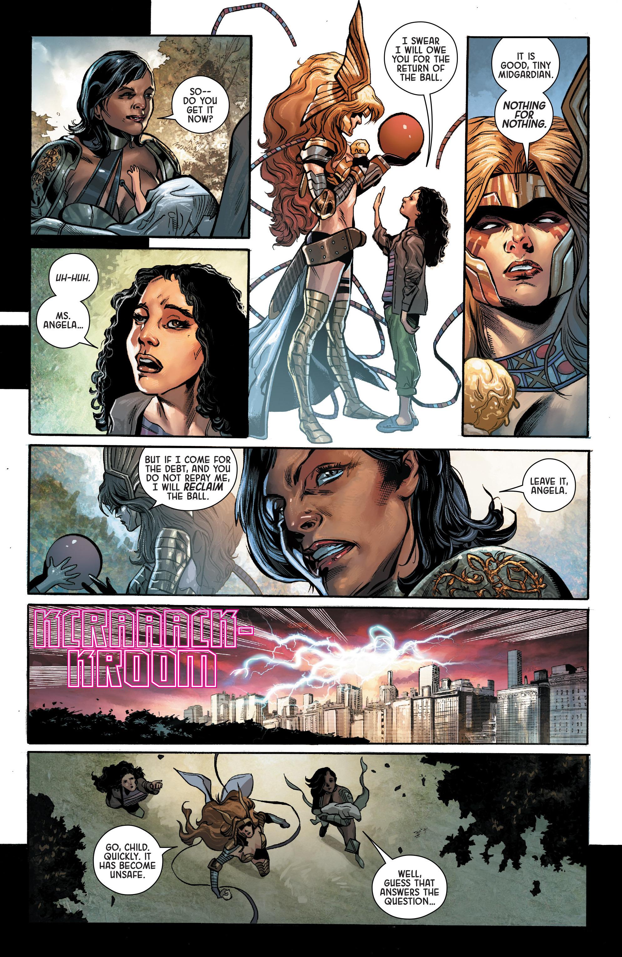 Read online Angela: Asgard's Assassin comic -  Issue #2 - 18