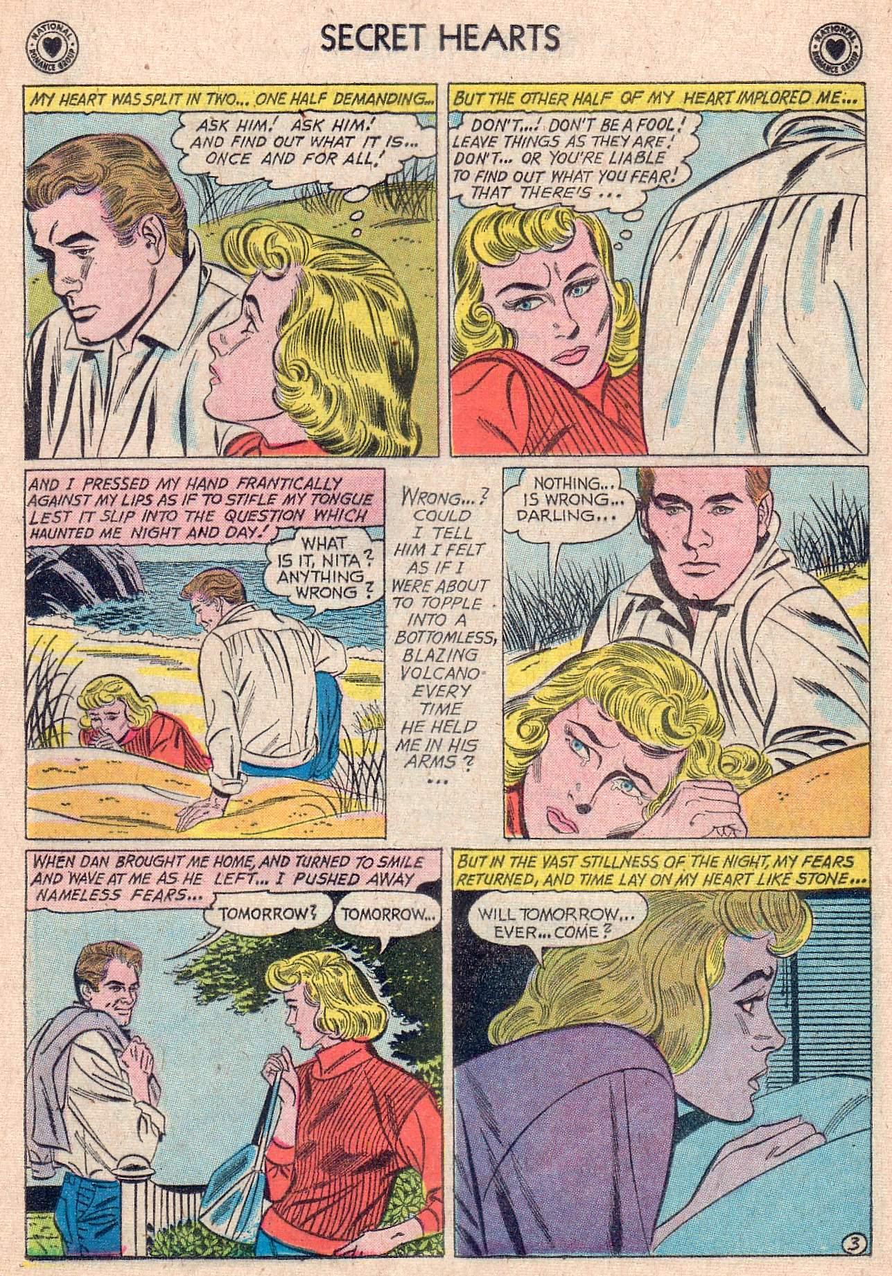 Read online Secret Hearts comic -  Issue #67 - 29