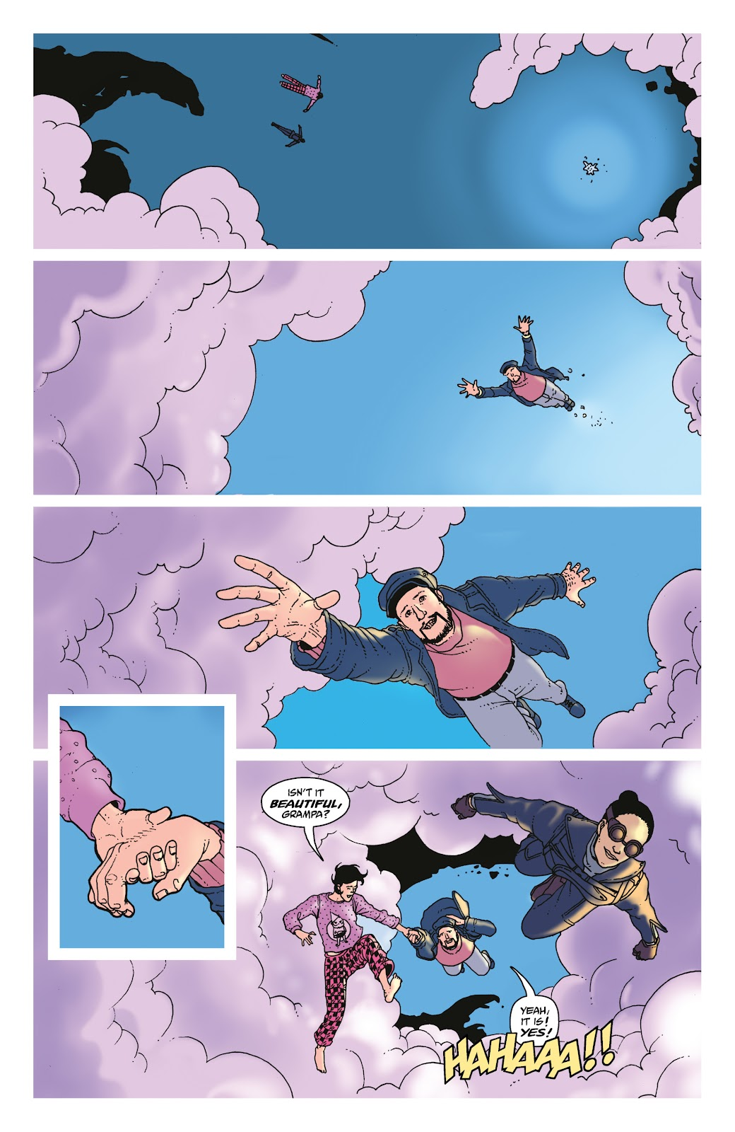 Read online She Could Fly comic -  Issue # _TPB - 105
