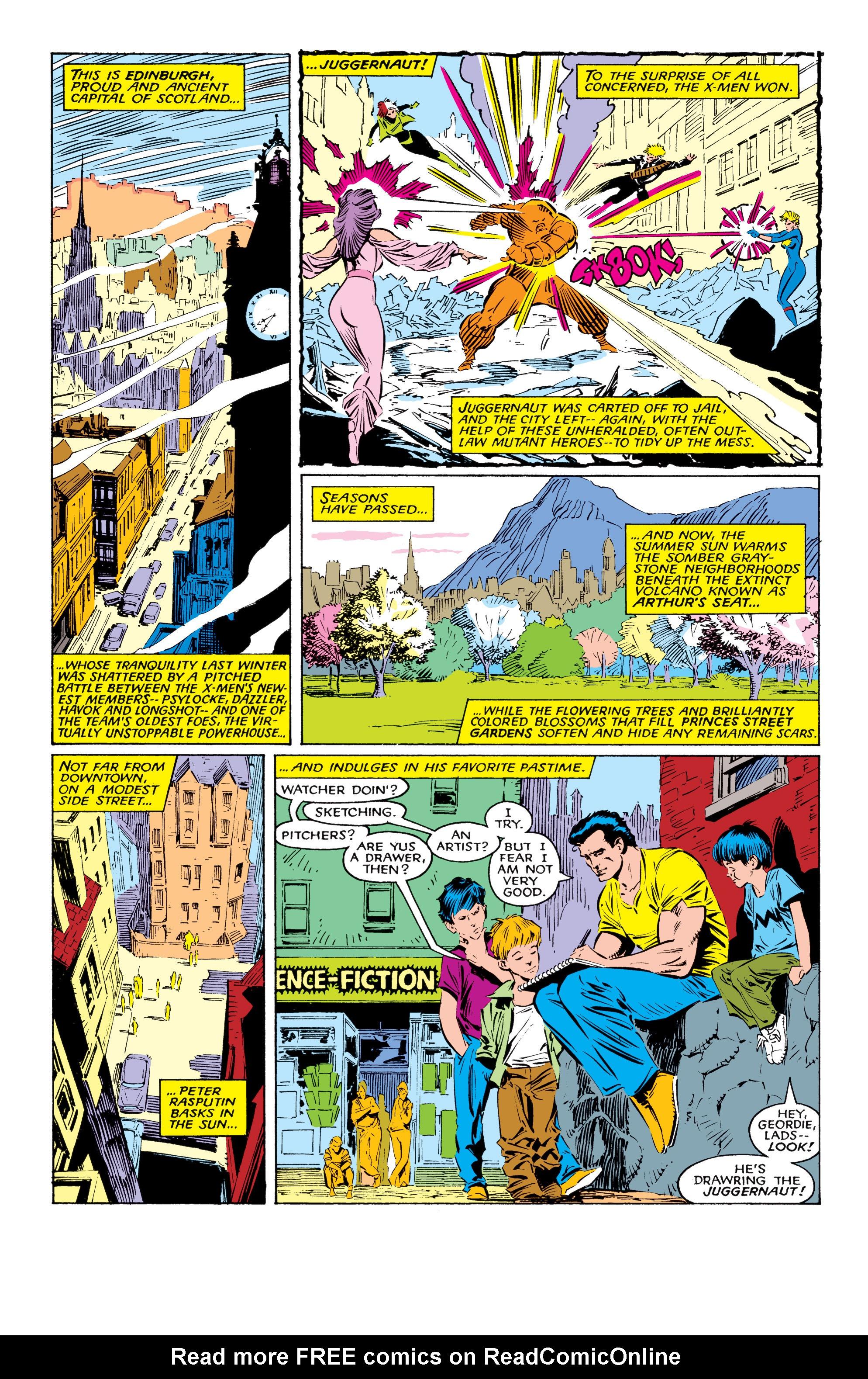 Read online Uncanny X-Men (1963) comic -  Issue #225 - 3