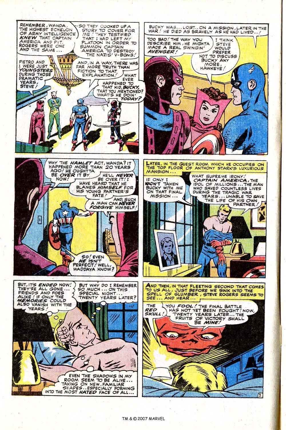 Read online Captain America (1968) comic -  Issue # _Annual 2 - 4