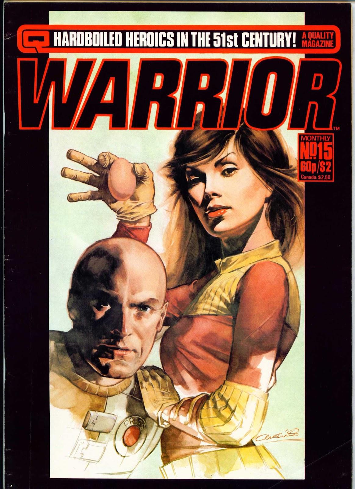 Warrior 15 Page 1