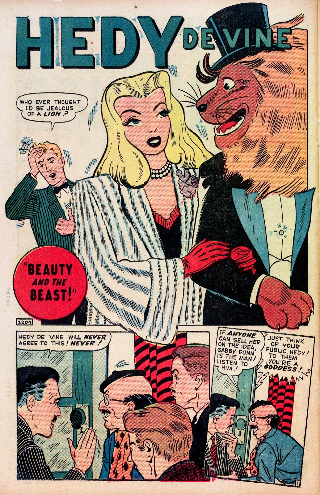 Read online Comedy Comics (1948) comic -  Issue #1 - 26