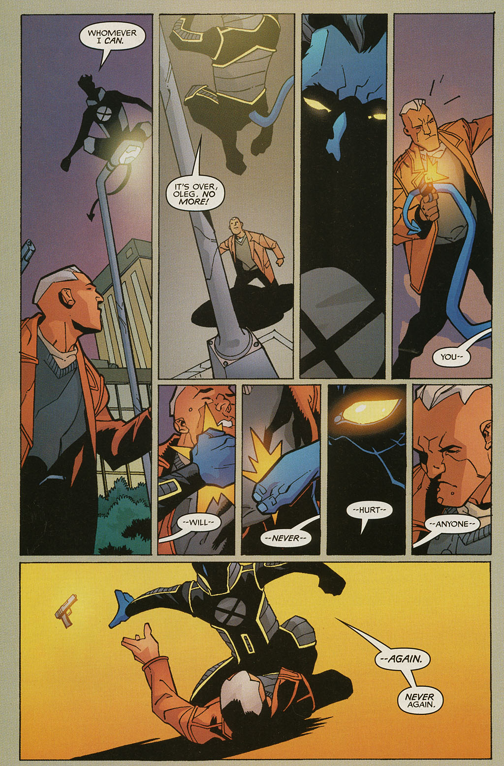 Read online Nightcrawler (2002) comic -  Issue #4 - 19